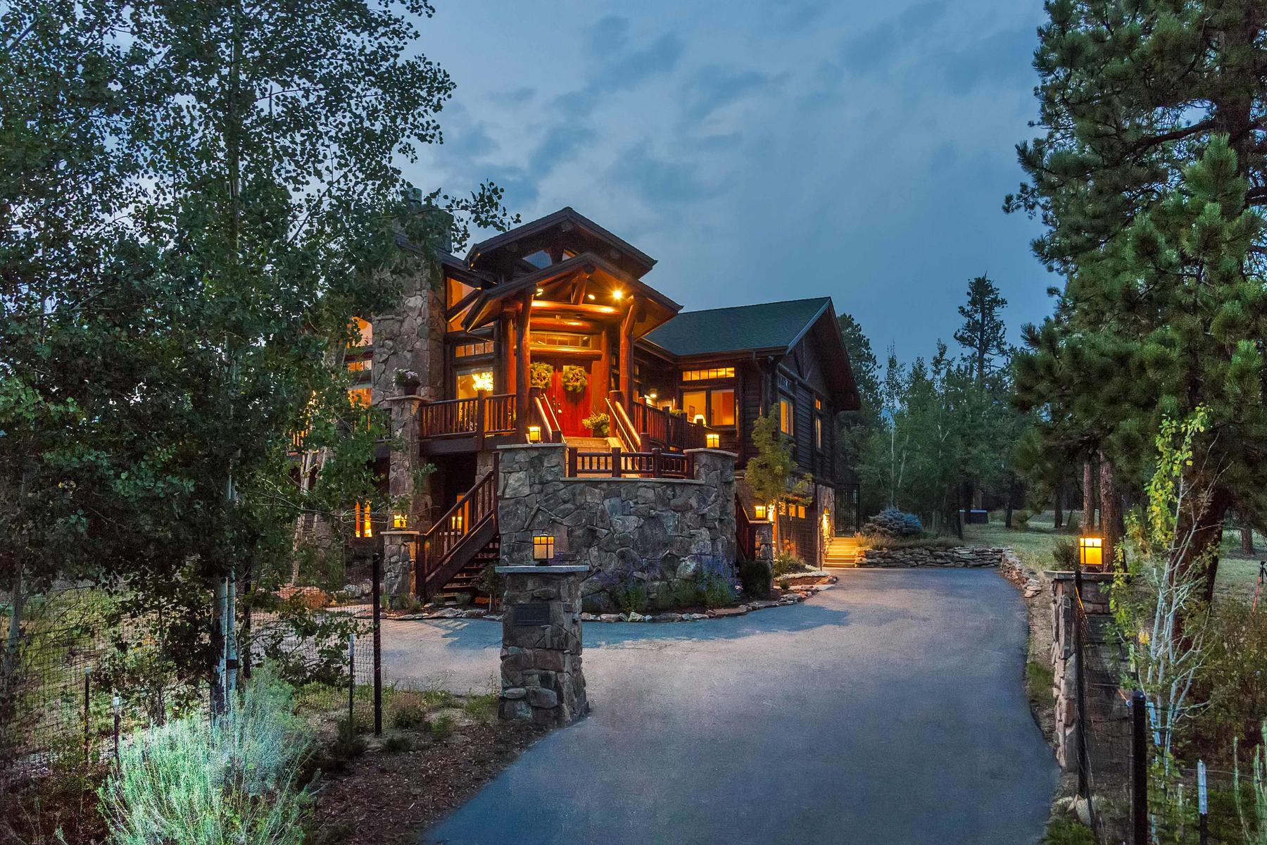 Single Family Homes 為 出售 在 Timeless Design And Magnificence 699 Findley Ct, Estes Park, 科羅拉多州 80517 美國