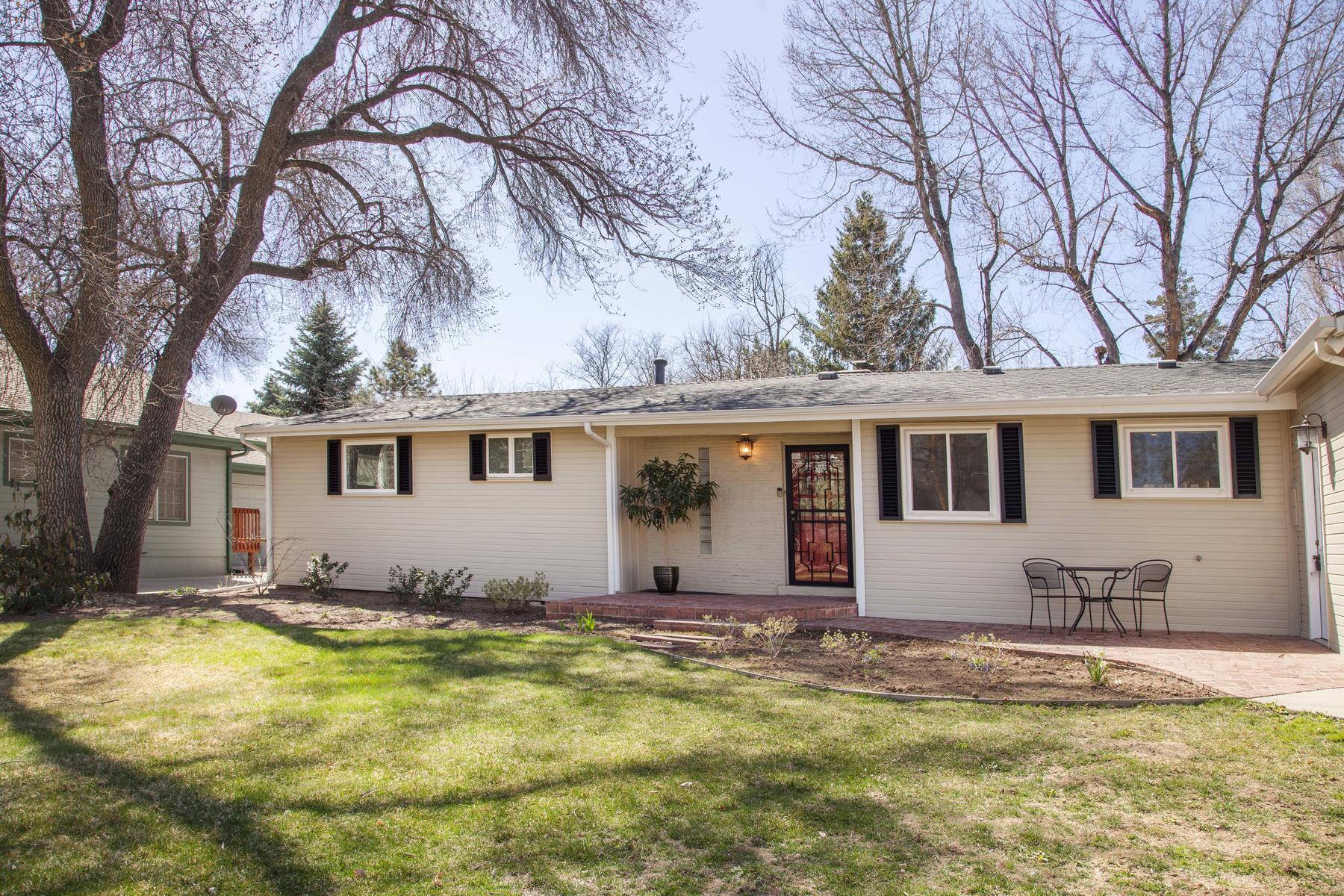 Single Family Home for Sale at 3/4 ACRE OF GORGEOUS FLAT LAND! 2331 S Jackson St, University Park, Denver, Colorado, 80210 United States