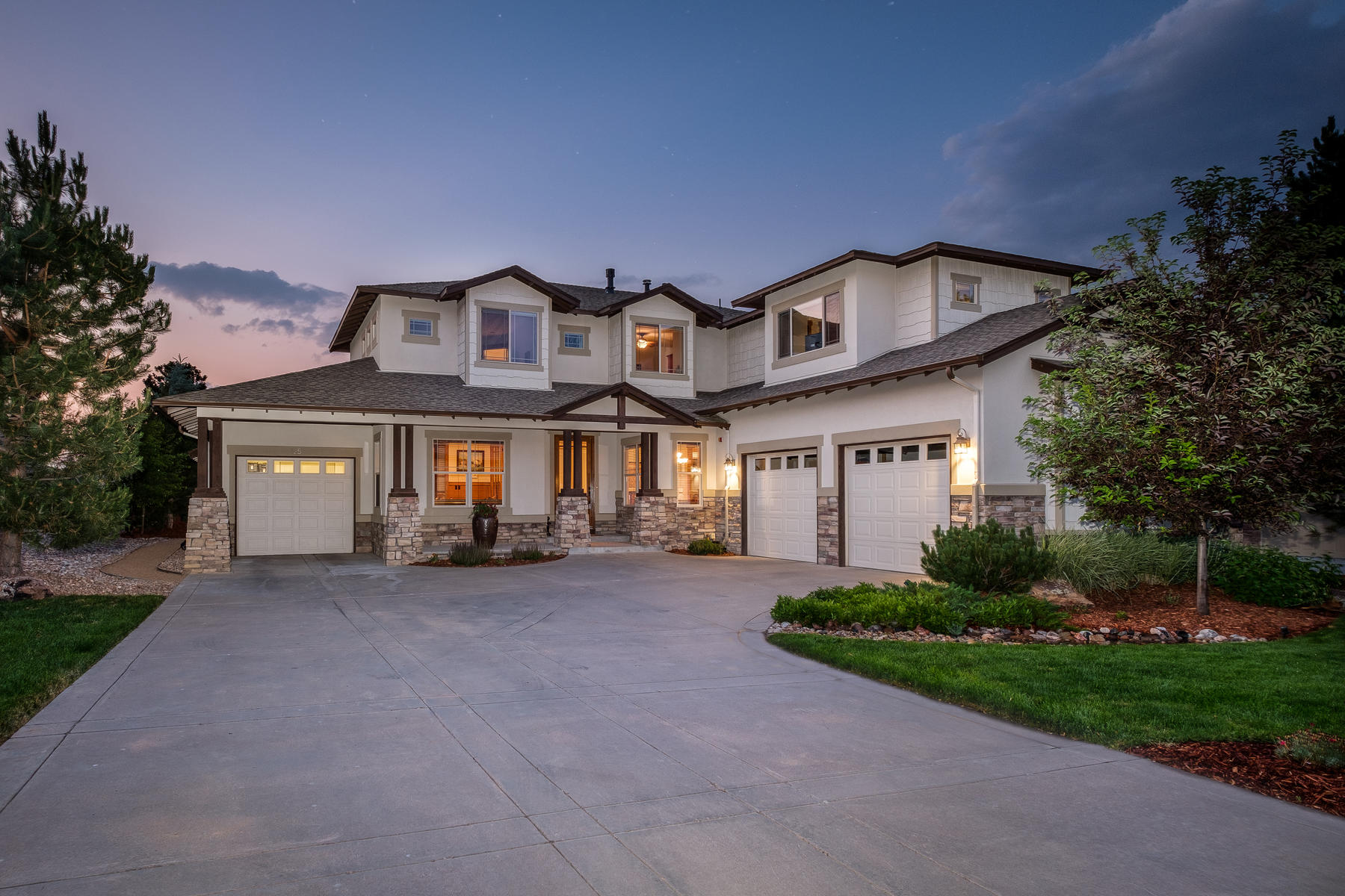 Single Family Home for Sale at This spectacular home is your Colorado dream come true. 1251 Buffalo Ridge Rd Castle Pines, Colorado, 80108 United States