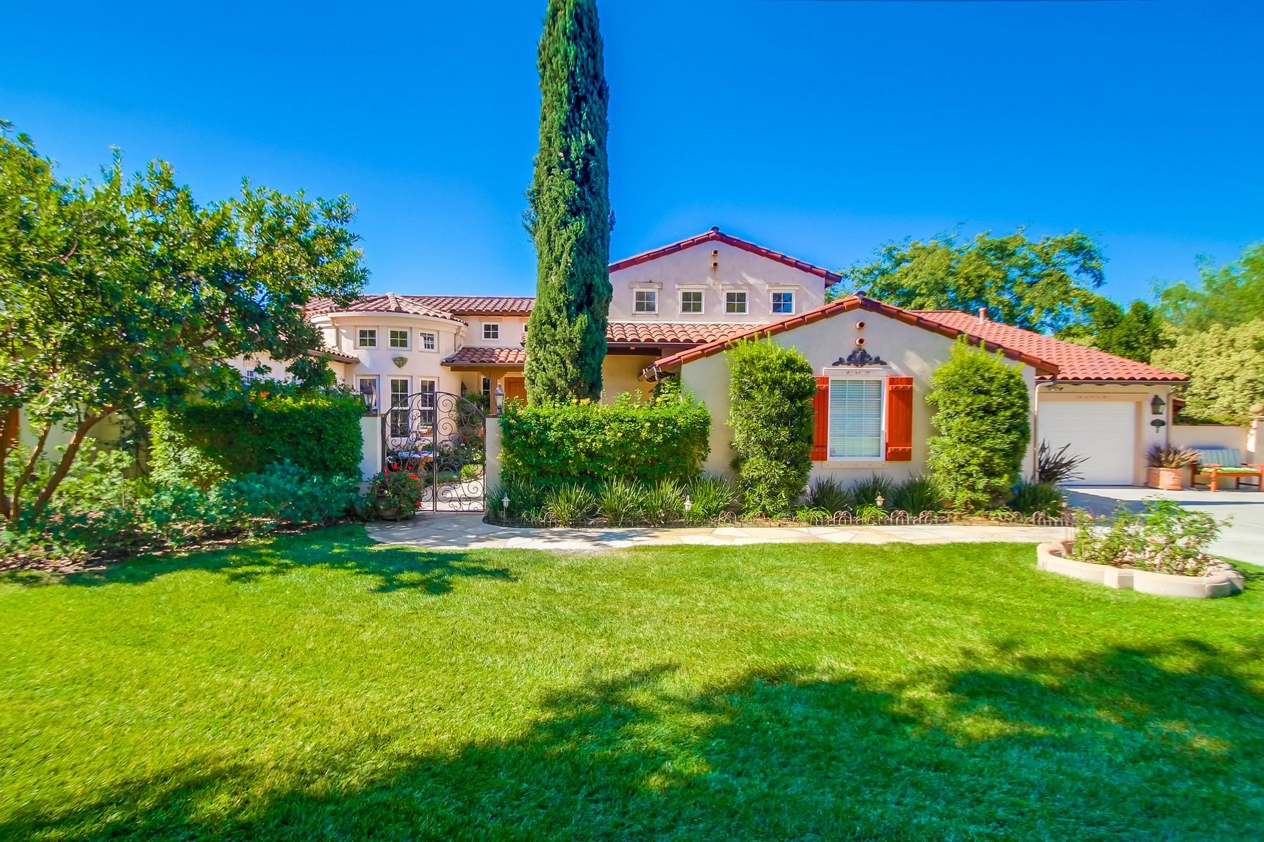 واحد منزل الأسرة للـ Sale في 2007 Kristi Ct Fallbrook, California, 92028 United States