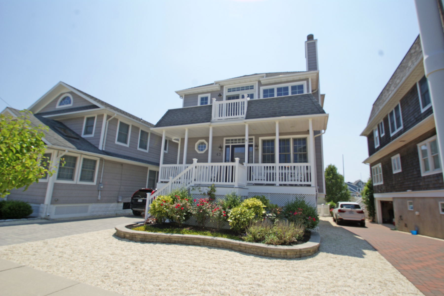 Moradia para Venda às Custom Built Oceanblock Home 43 3rd Avenue, Normandy Beach, Nova Jersey 08739 Estados Unidos