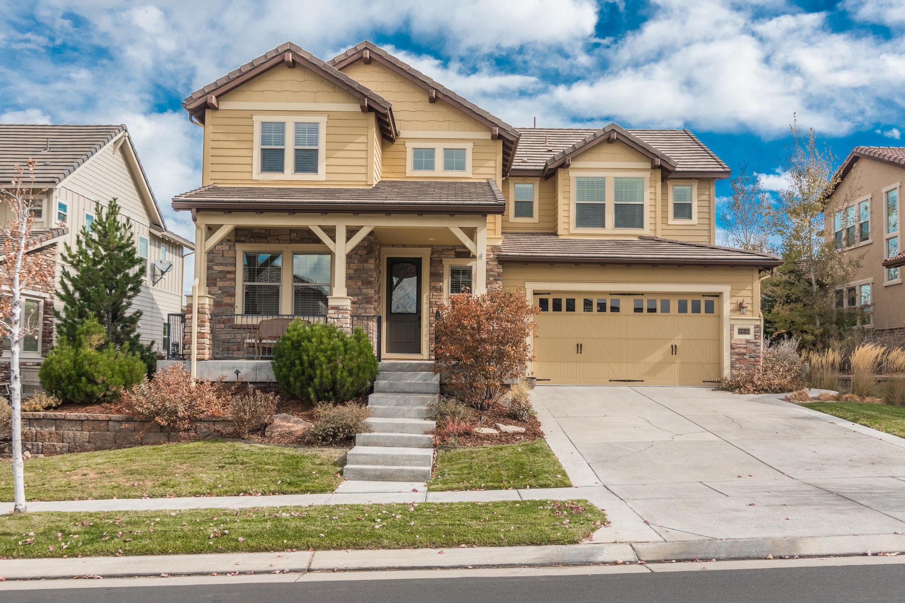 Single Family Homes for Active at You will feel right at home in this classic 2 story built by Shea Homes. 10646 Sundial Rim Rd Highlands Ranch, Colorado 80129 United States