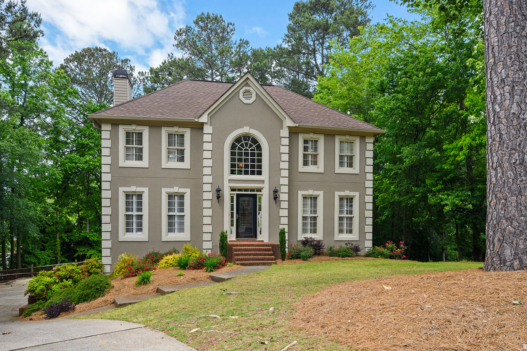 Single Family Homes for Sale at Ready To Move-In Home In Windward 435 Ridgewood Way Alpharetta, Georgia 30005 United States