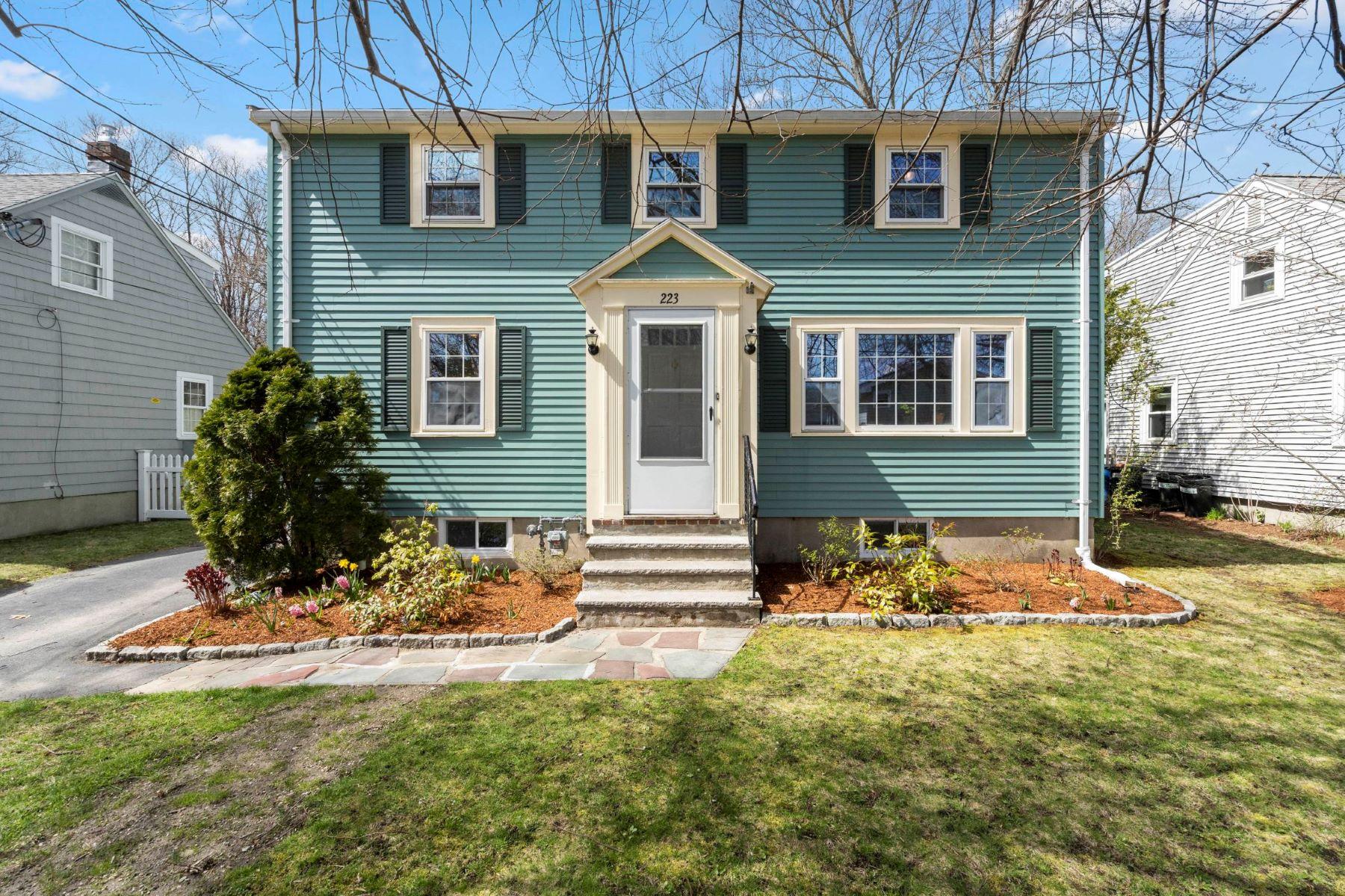 Single Family Homes για την Πώληση στο 223 Sylvia Street Arlington, Μασαχουσετη 02476 Ηνωμένες Πολιτείες