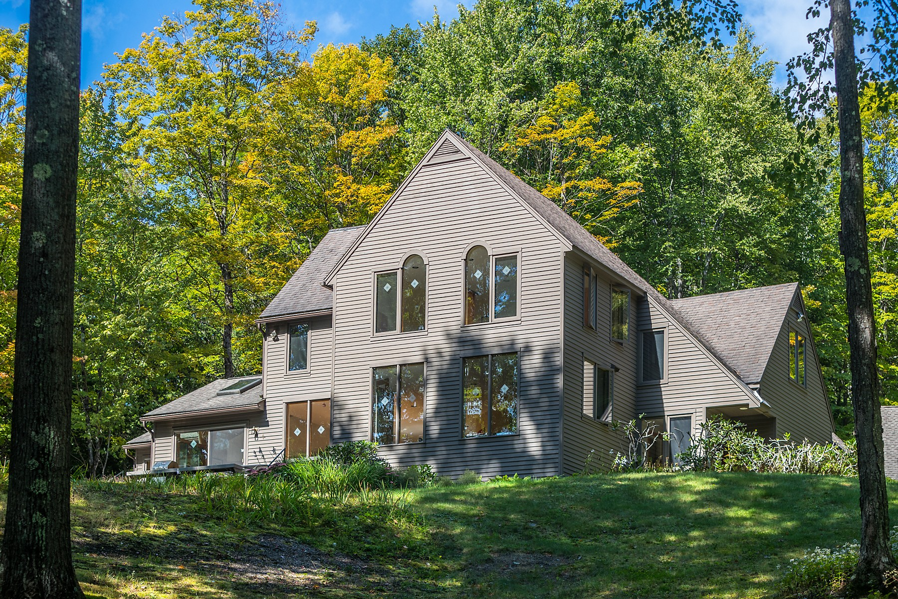 Single Family Homes for Sale at Beautiful Contemporary with In-Law or Office Suite 1013 South St Brattleboro, Vermont 05301 United States
