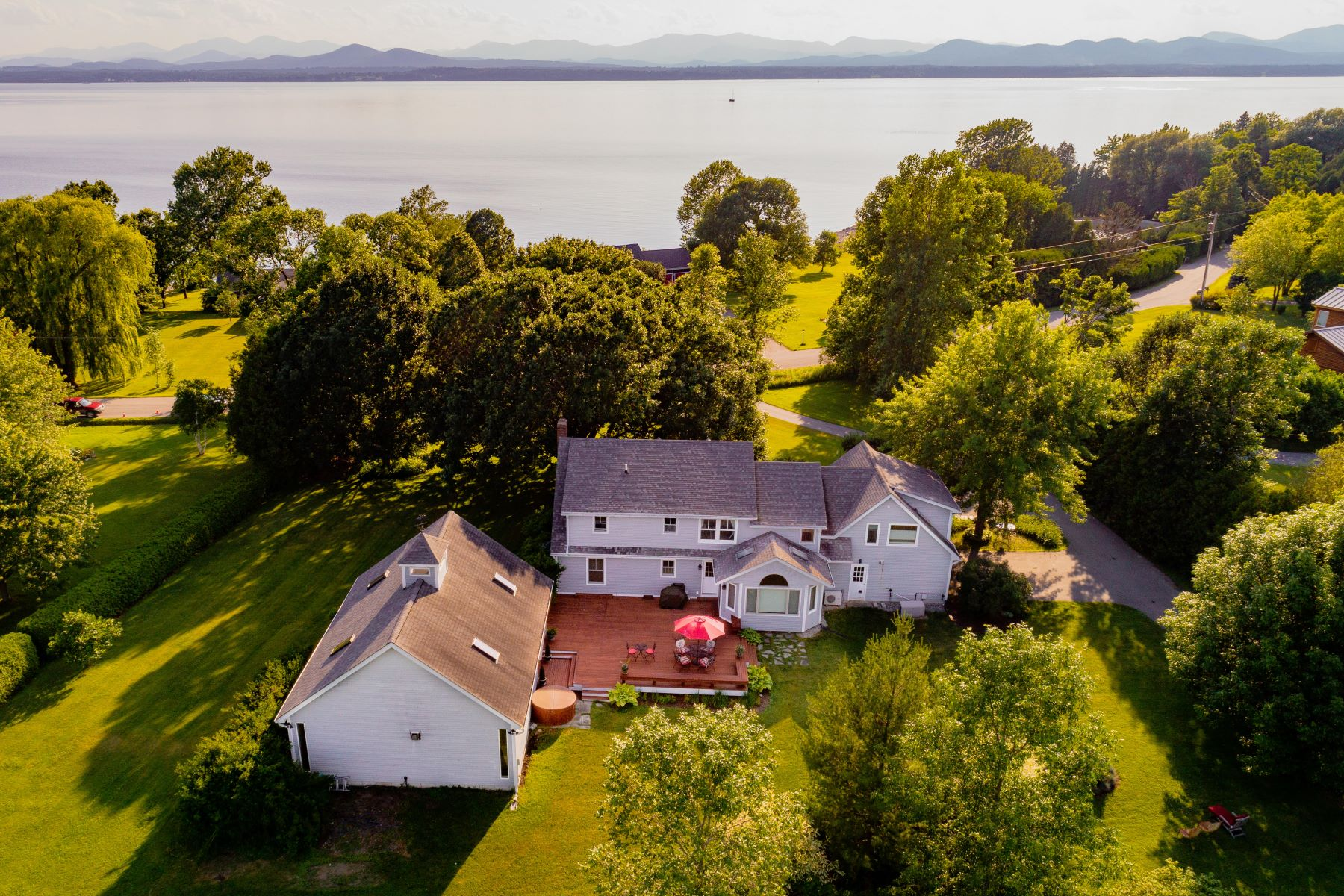 Single Family Home for Sale at 608 Hills Point Road, Charlotte 608 Hills Point Rd Charlotte, Vermont 05445 United States