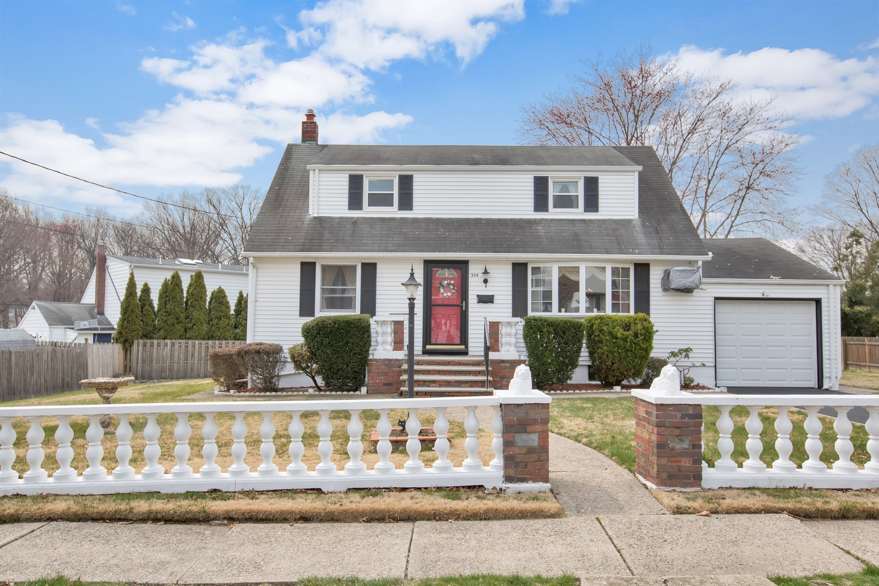 Single Family Home for Sale at Immaculate Cape Cod 354 E Woodland Rd, New Milford, New Jersey 07646 United States