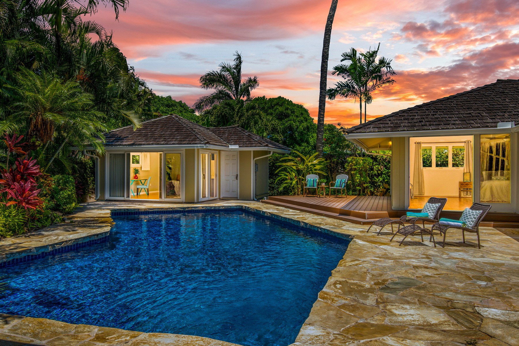Single Family Homes 용 매매 에 Kailua Living 811 N Kalaheo Ave, Kailua, 하와이 96734 미국
