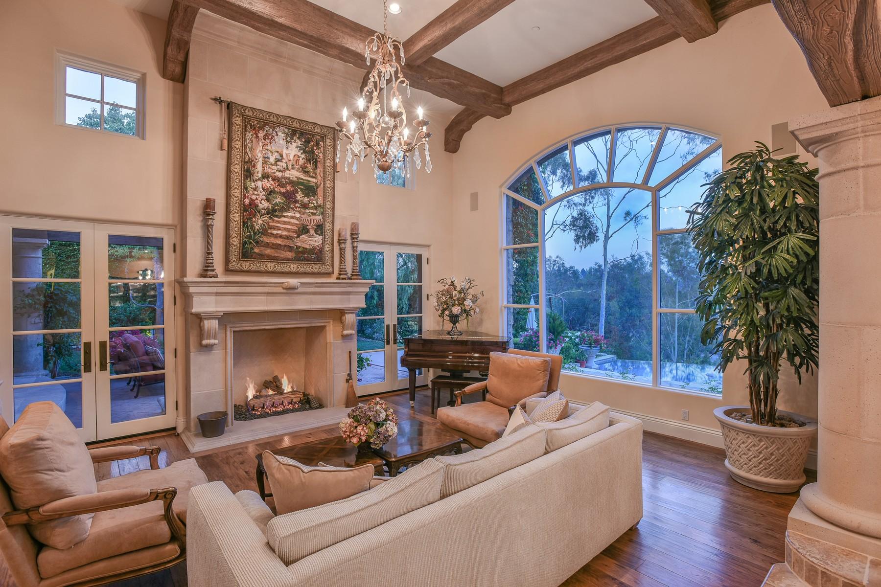 一戸建て のために 売買 アット 18356 Calle La Serra Rancho Santa Fe, カリフォルニア, 92067 アメリカ合衆国
