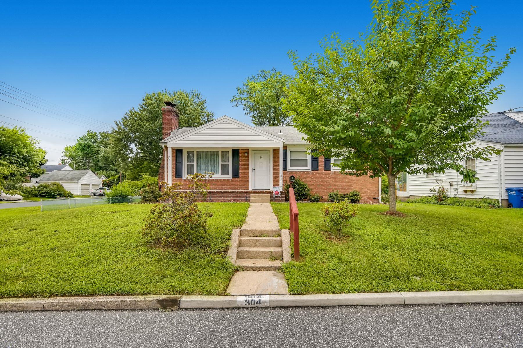 Single Family Homes 为 销售 在 Wyn Mar 304 Carter Street Aberdeen, 马里兰州 21001 美国