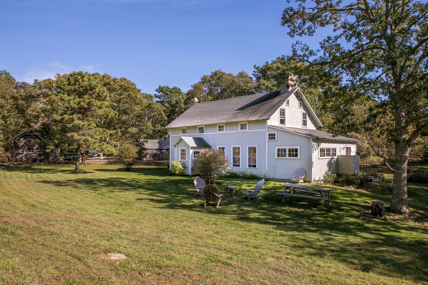 Single Family Home for Sale at Extraordinary cape style home in Chilmark 5 Tree Frog Lane Chilmark, Massachusetts 02535 United States