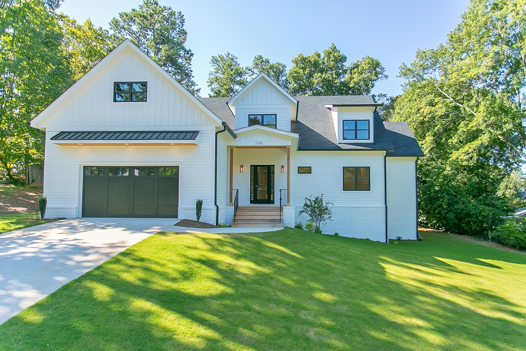 Single Family Homes for Sale at New Construction Modern Farmhouse Near the Heart of Vinings 2330 Hills Lane Drive SE Smyrna, Georgia 30080 United States