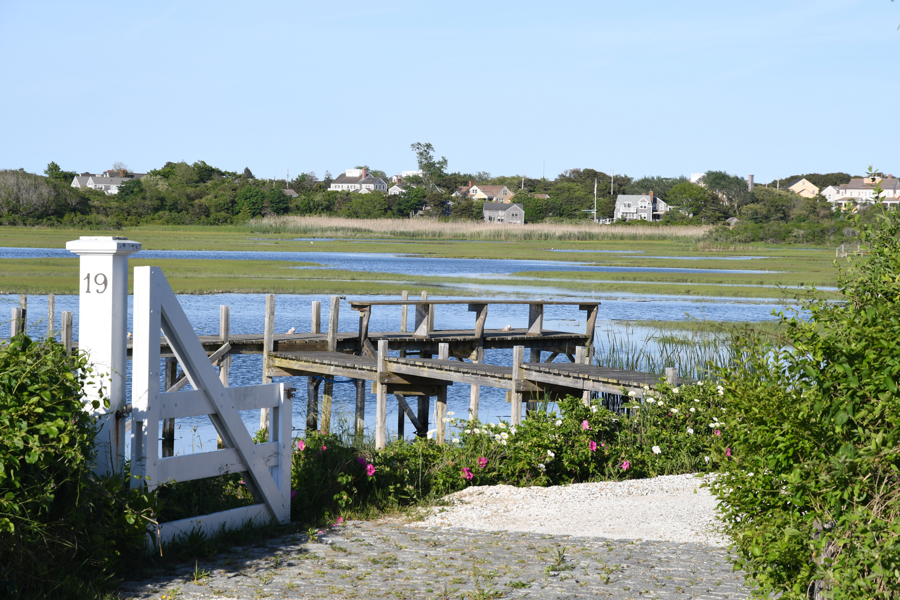 Single Family Home for Sale at Expansive Harbor Views and Private Dockage 19 East Creek Road Nantucket, Massachusetts, 02554 United States