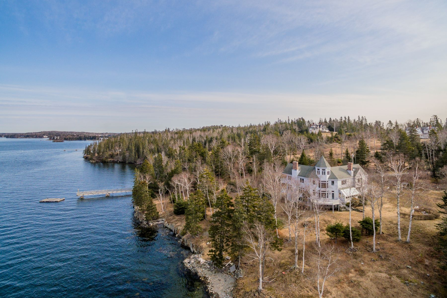 Single Family Home for Sale at 903 Pendleton Point Road 903 Pendleton Point Road Islesboro, Maine 04848 United States