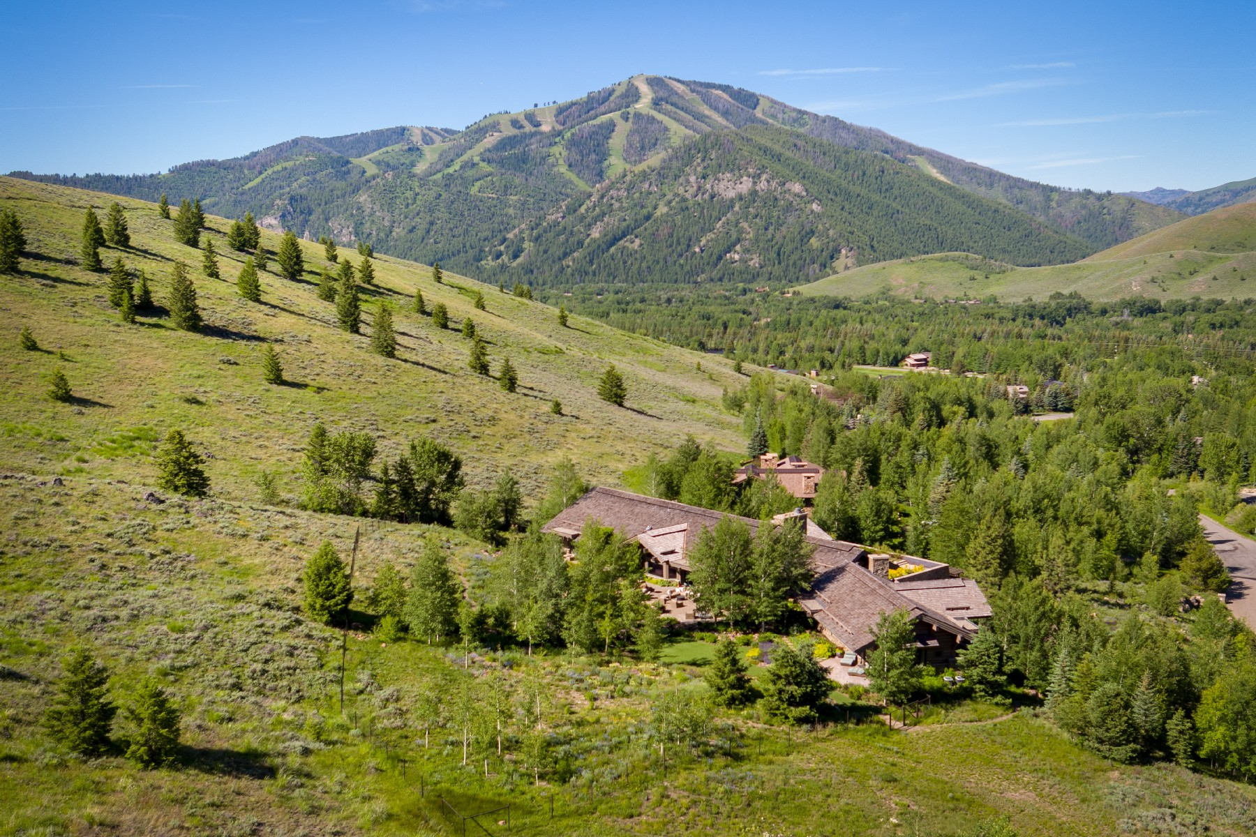 Single Family Homes for Sale at Legacy Sun Valley Estate 140 Telemark Rd Ketchum, Idaho 83340 United States
