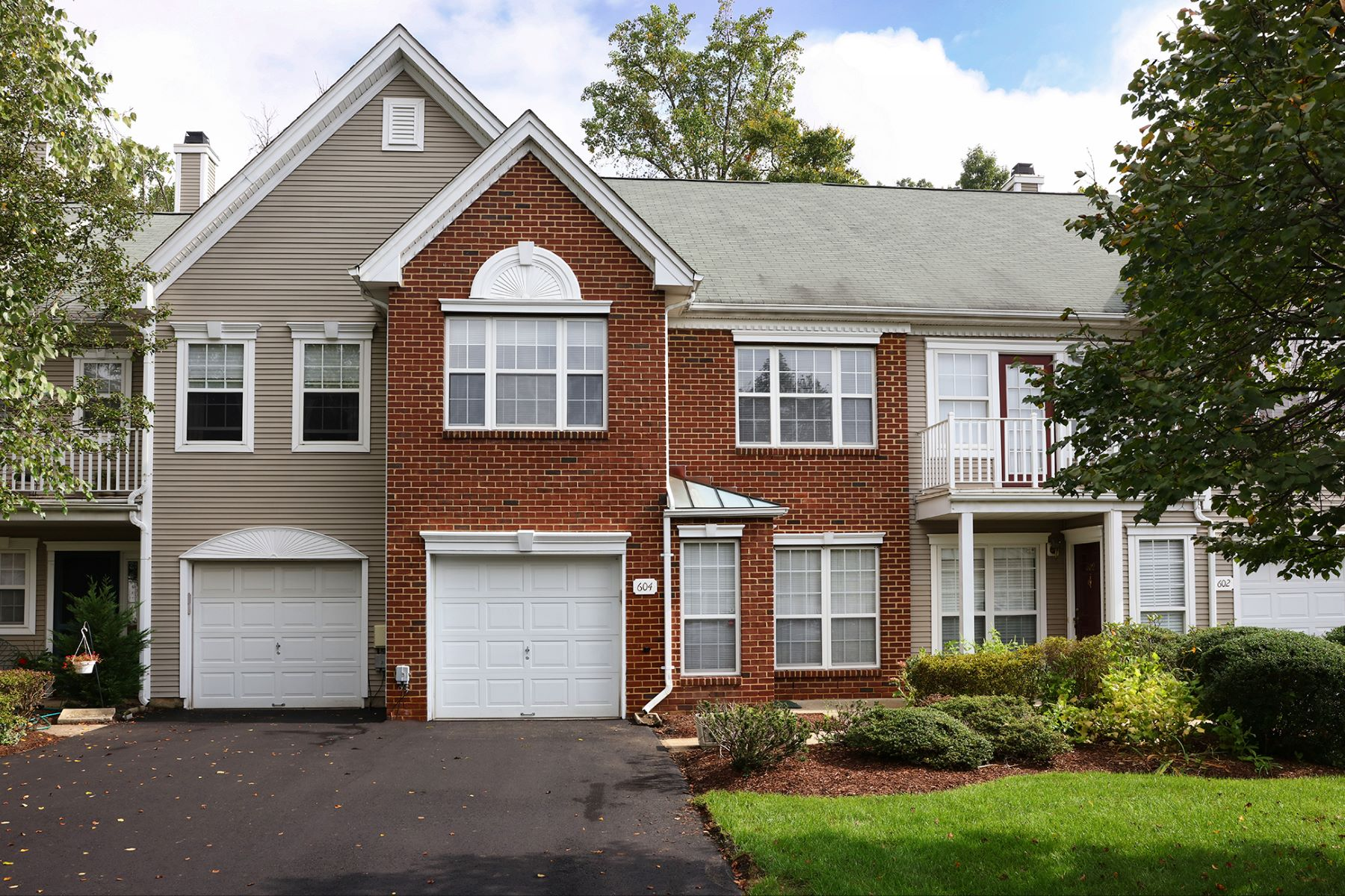 Townhouse for Sale at A Carefree Lifestyle 604 Bollen Court, Pennington, New Jersey 08534 United StatesMunicipality: Hopewell Township