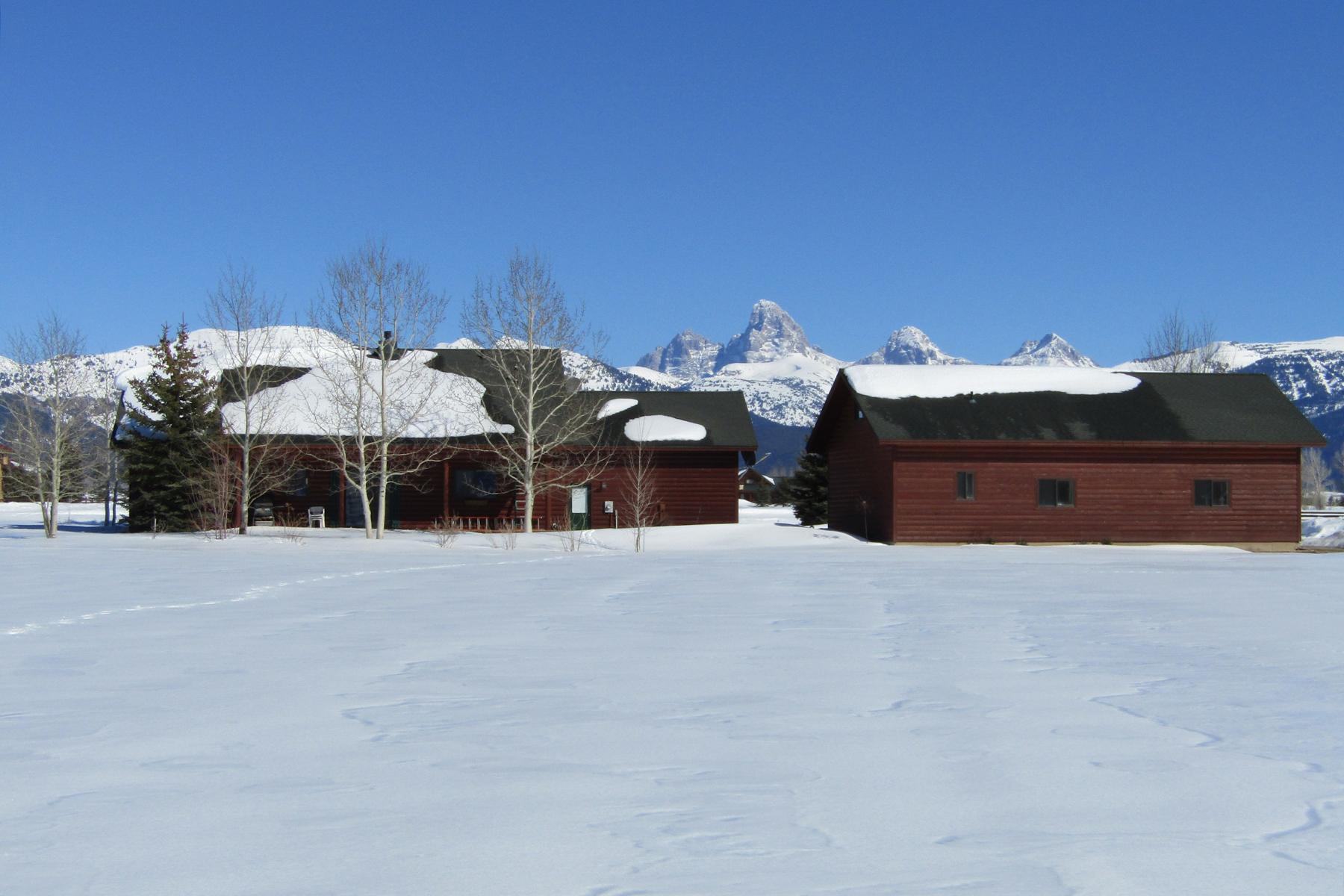 Single Family Home for Active at 4852 Renegade Dr Tetonia, Idaho 83452 United States
