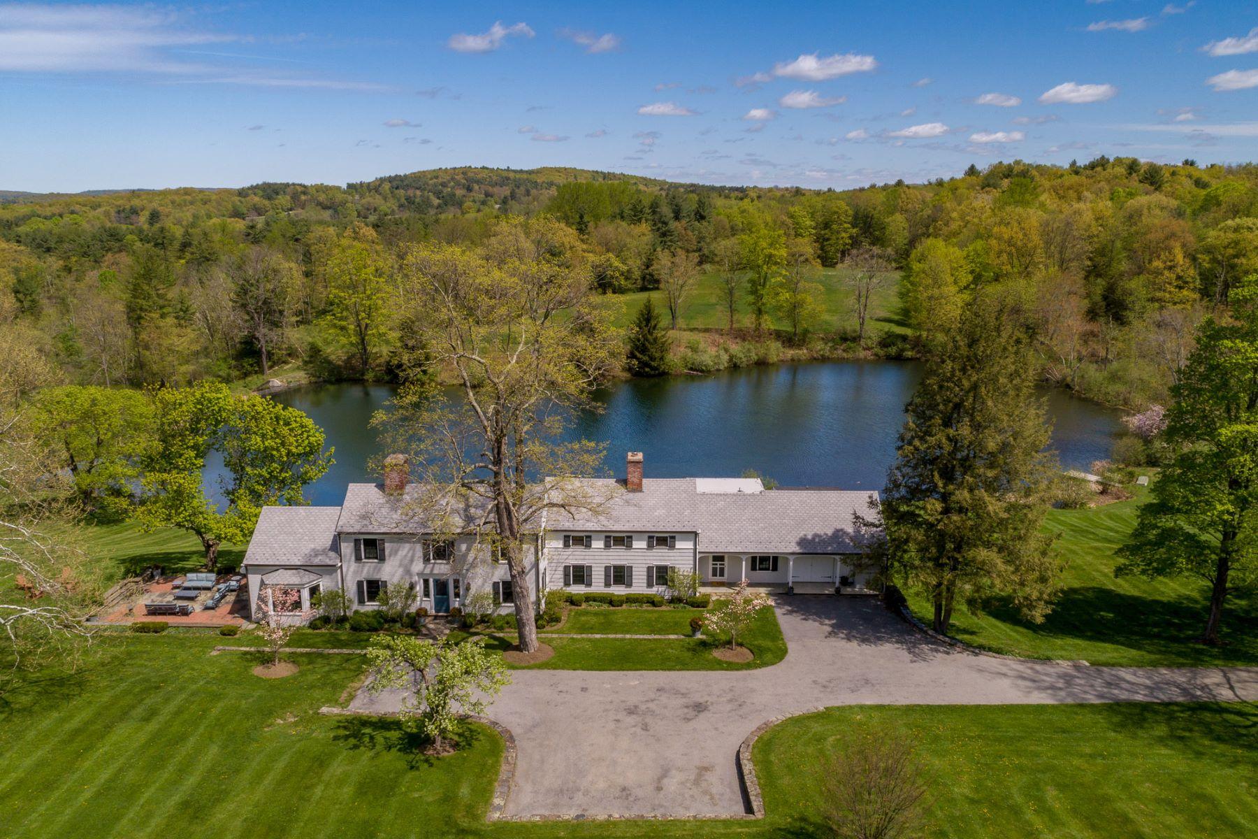 Maison unifamiliale pour l Vente à Arcadia Fields 749 Stanford Road Millbrook, New York 12545 États-Unis