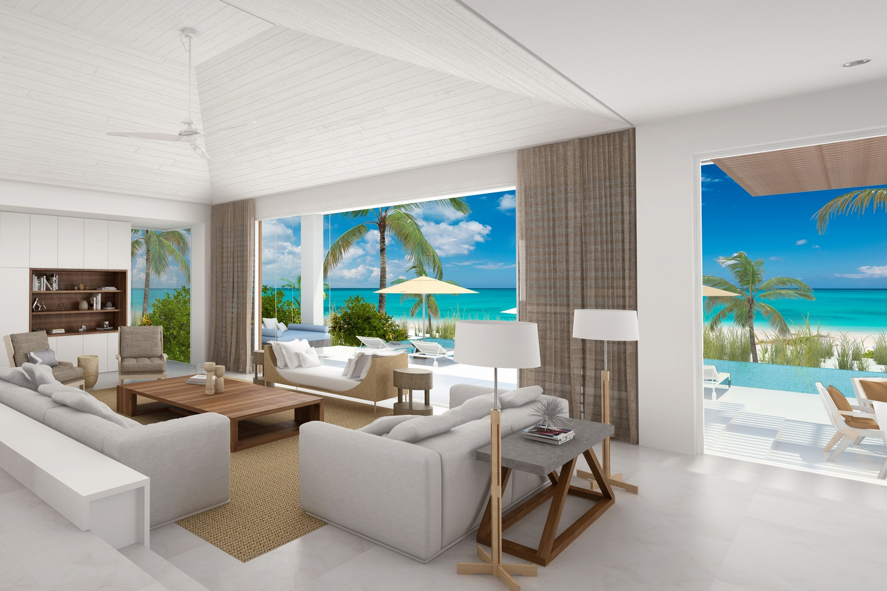 Additional photo for property listing at Beach Enclave Grace Bay - Design A Beach Enclave Grace Bay, Lot 10 - Design A 格蕾斯湾, 普罗维登夏 TKCA 1ZZ 特克斯和凯科斯群岛