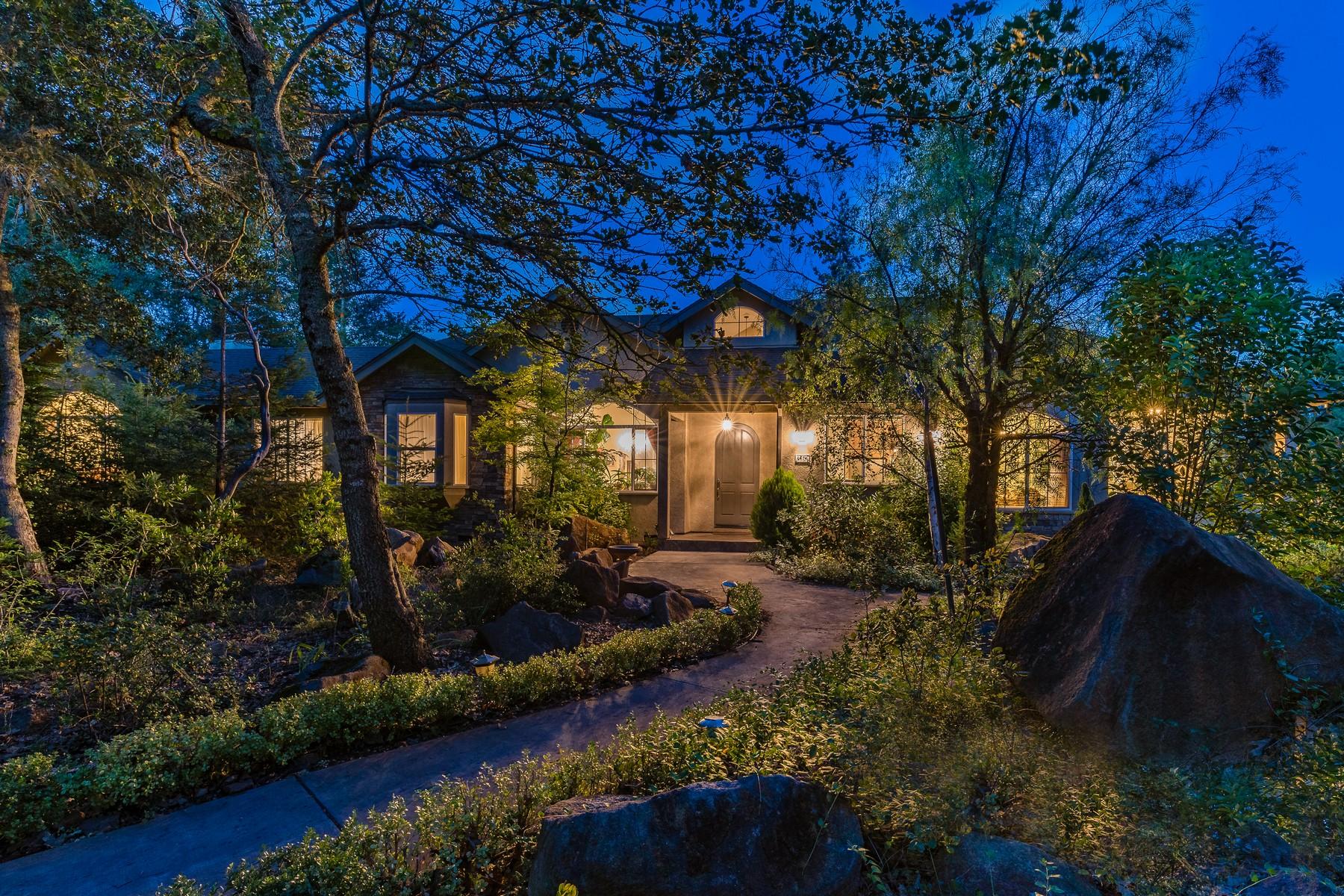 Single Family Homes for Sale at Exquisite Santa Rosa Single Level 1578 Manzanita Avenue Santa Rosa, California 95404 United States
