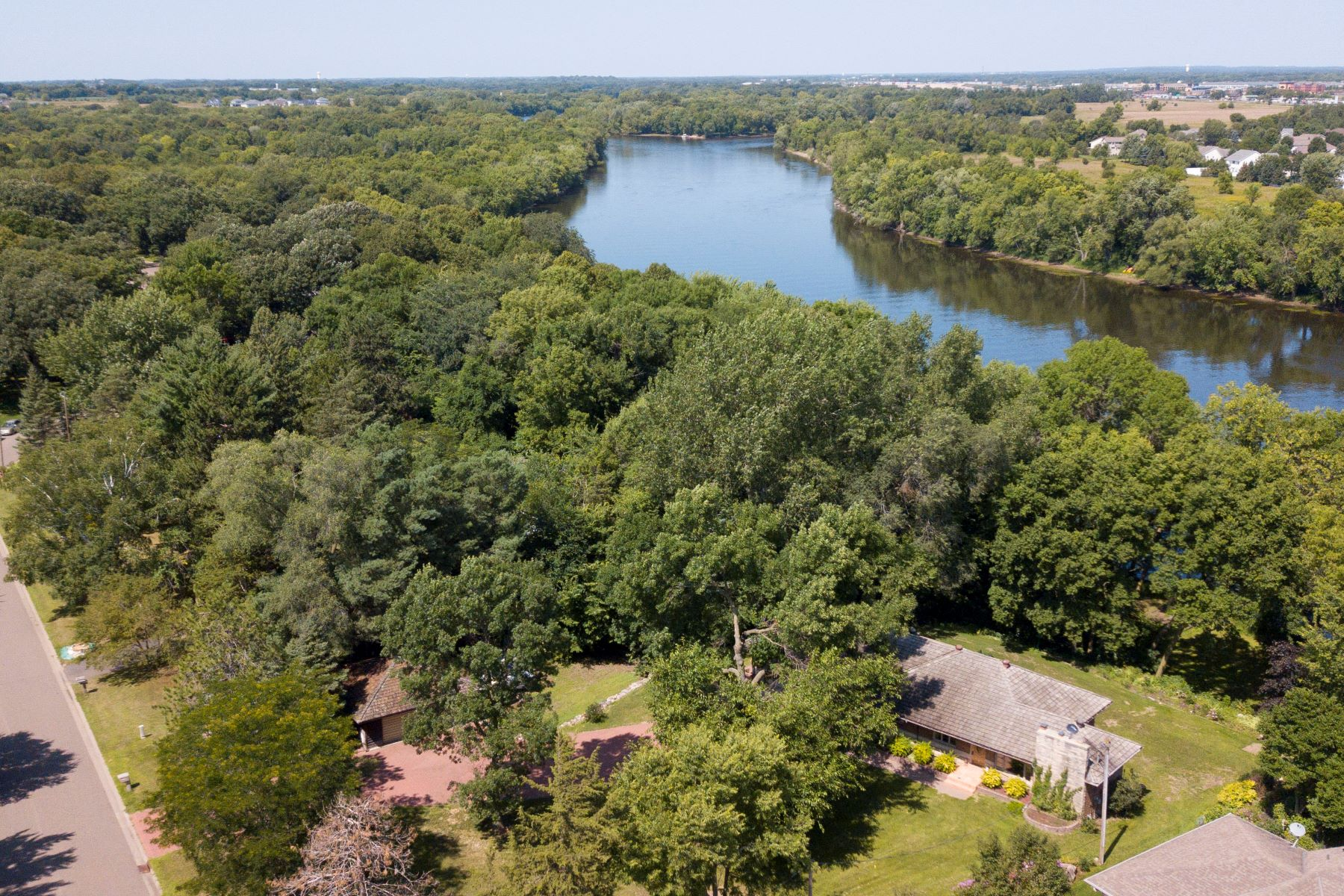 Single Family Homes for Sale at 1+ Acre 4 Bedroom Home and Riverfront Living at its Best! 12600 Overlook Road Dayton, Minnesota 55327 United States