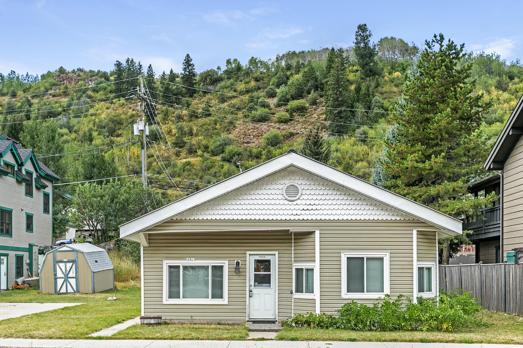 Single Family Homes for Sale at Premium location in the heart of Downtown Minturn 231 Main Street Minturn, Colorado 81645 United States