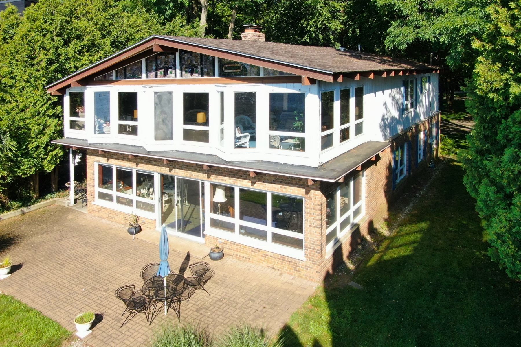 Single Family Homes for Sale at Waterfront Home in Incomparable Location 111 Park Street Saugatuck, Michigan 49453 United States