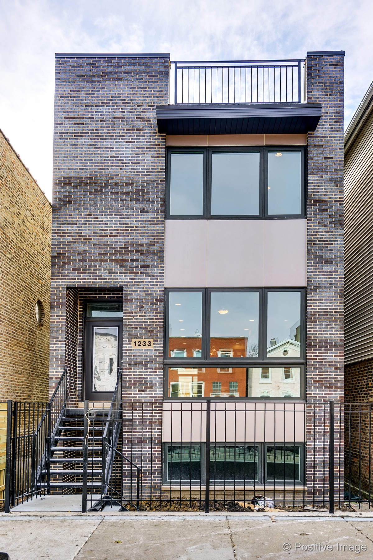 Single Family Home for Sale at Logan Square New Construction Single-Family 2108 N. Bingham Street Logan Square, Chicago, Illinois, 60647 United States