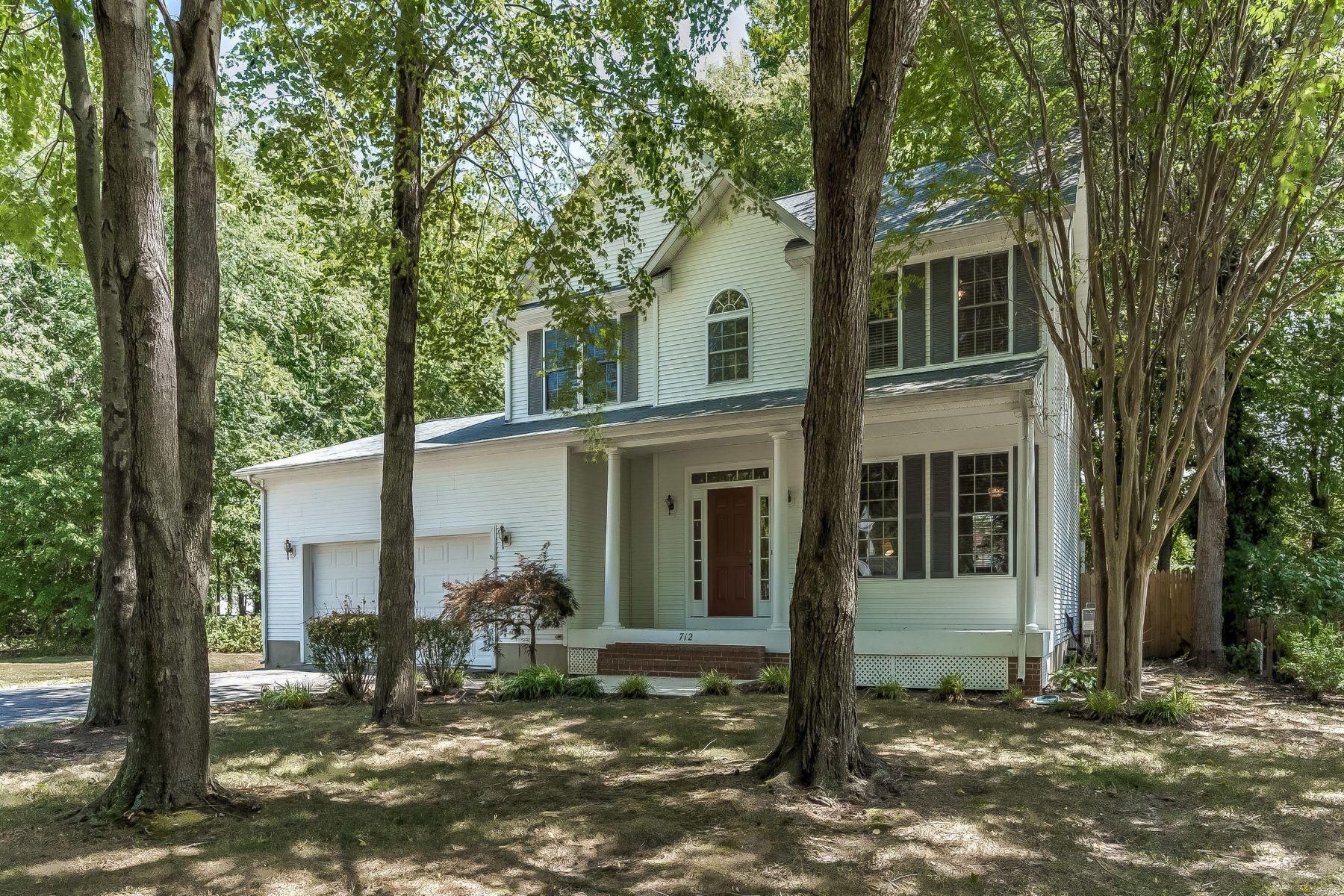 Single Family Homes 为 销售 在 Cloverfields 712 Davol Road Stevensville, 马里兰州 21666 美国