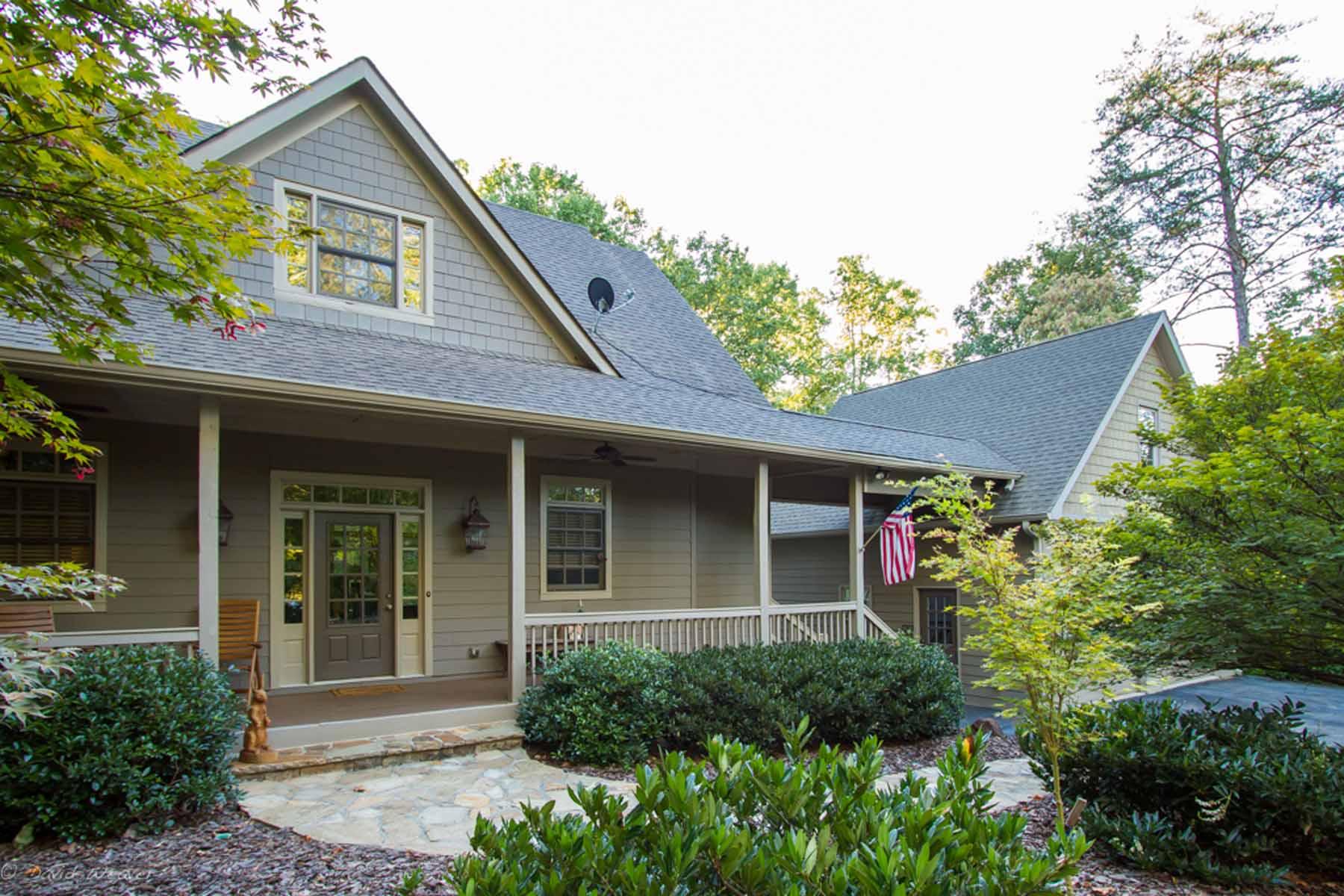 Maison unifamiliale pour l Vente à Impeccable Private Mountain Retreat 250 Gadalutsee Pass Big Canoe, Georgia, 30143 États-Unis