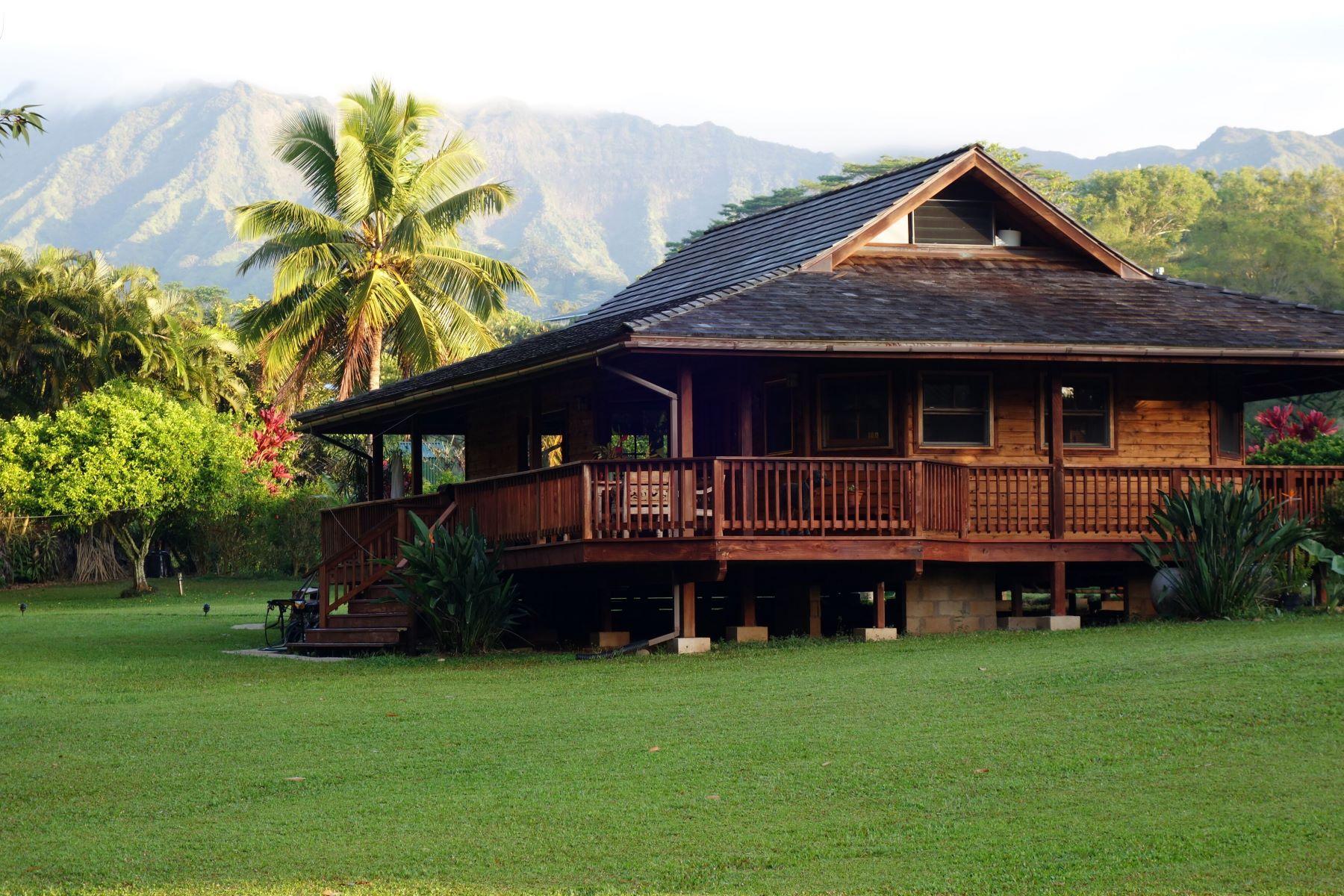 Single Family Home for Active at 6468 Kipapa Road Kapaa, Hawaii 96746 United States