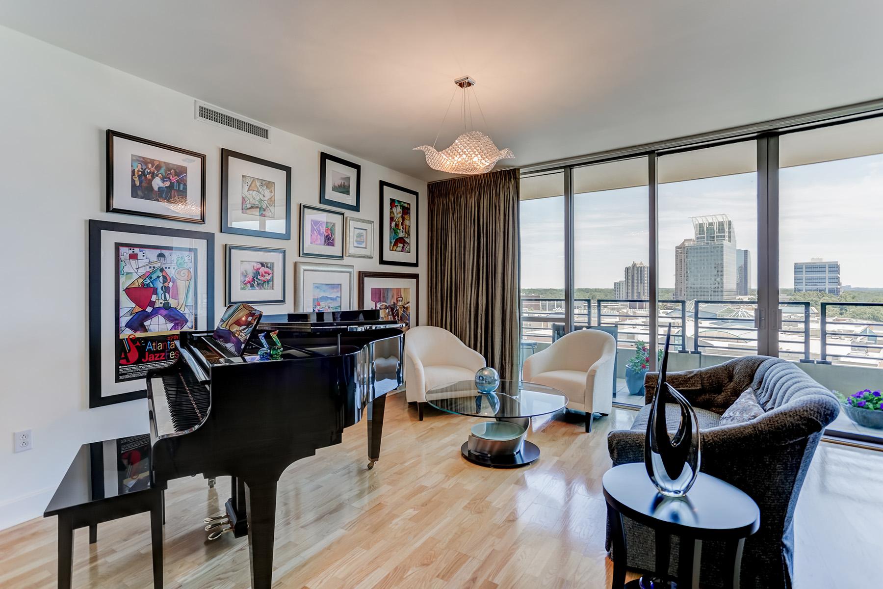Condominium for Sale at Sophisticated Buckhead Condo 700 Park Regency Pl 1803 Atlanta, Georgia 30326 United States