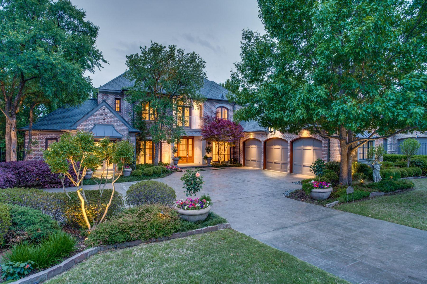 Single Family Homes 용 매매 에 6628 Whispering Wood Court 6628 Whispering Woods Ct., Plano, 텍사스 75024 미국