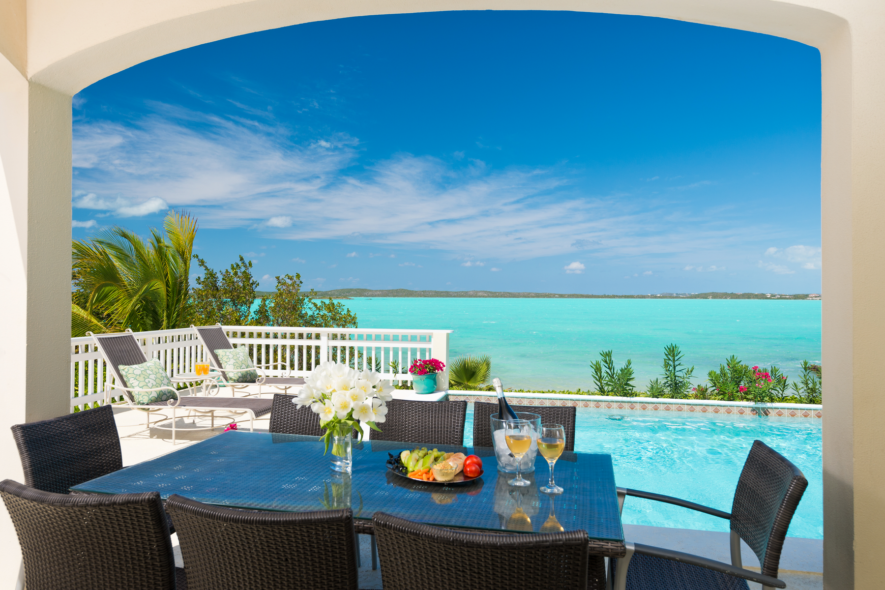 Single Family Home for Sale at BRIGHT IDEA VILLA Oceanfront Chalk Sound, TKCA 1ZZ Turks And Caicos Islands