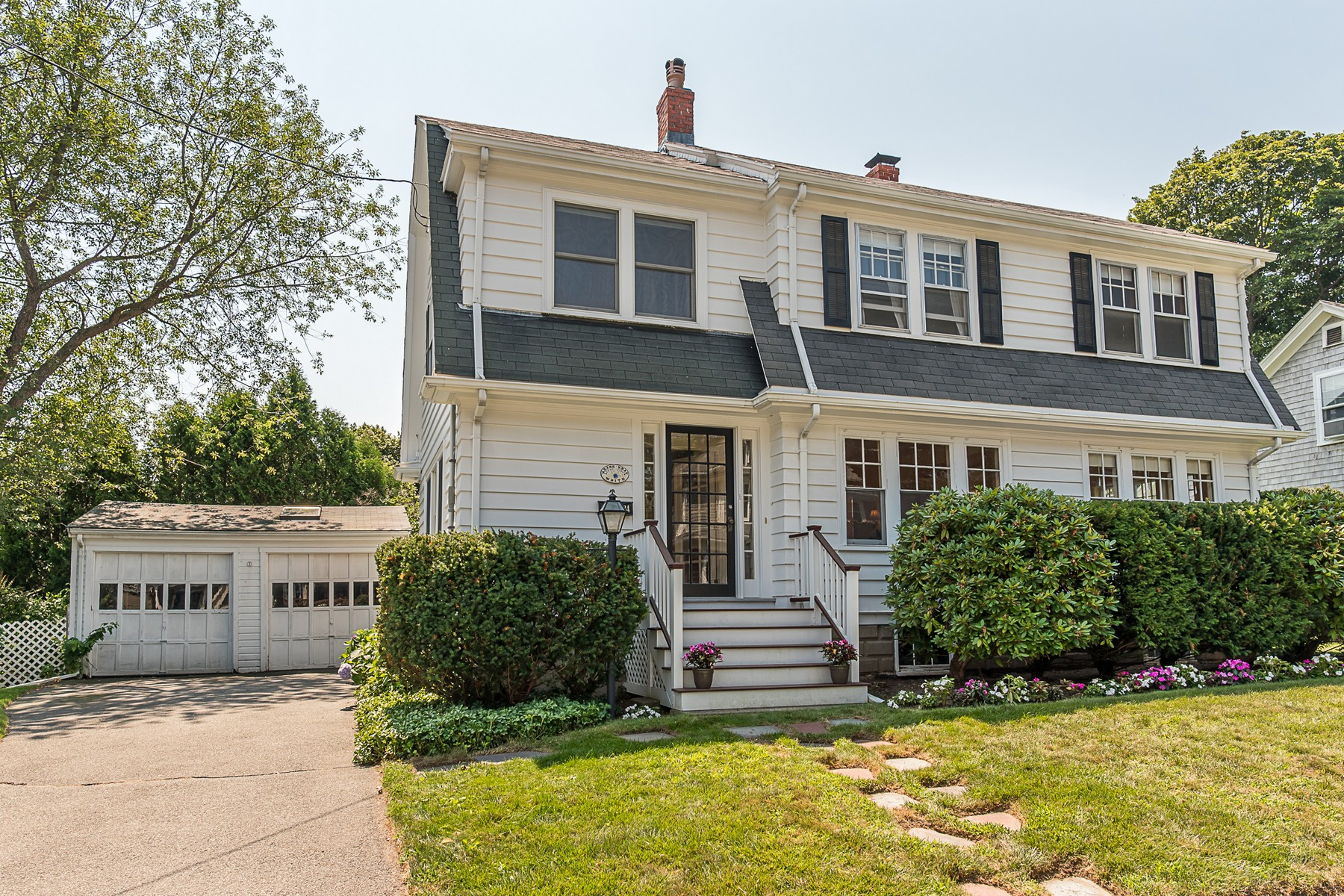 Single Family Home for Sale at Charming Dutch Colonial 34 Ruby Avenue Marblehead, Massachusetts 01945 United States