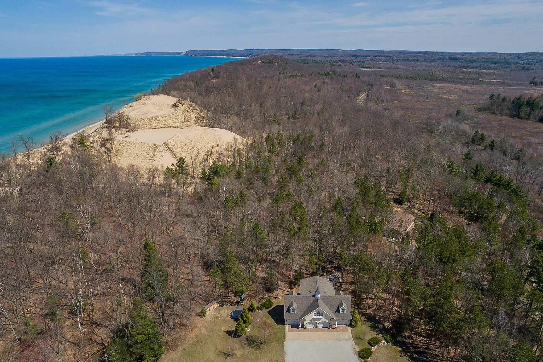 Land for Sale at Serene Lakeshore Property 4500 Lakeshore Road Lot 4 Manistee, Michigan 49660 United States