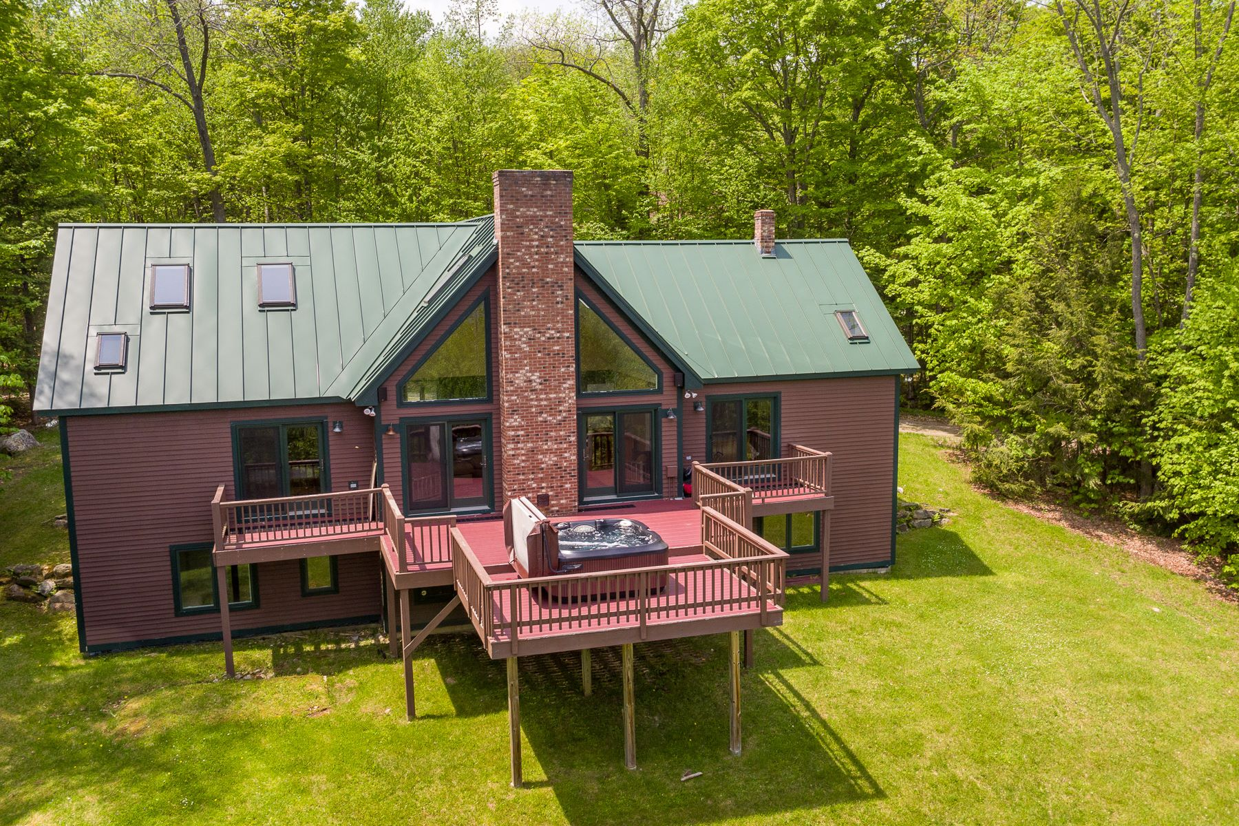Single Family Homes for Sale at Okemo Contemporary 24 Macdonald Lane Ludlow, Vermont 05149 United States