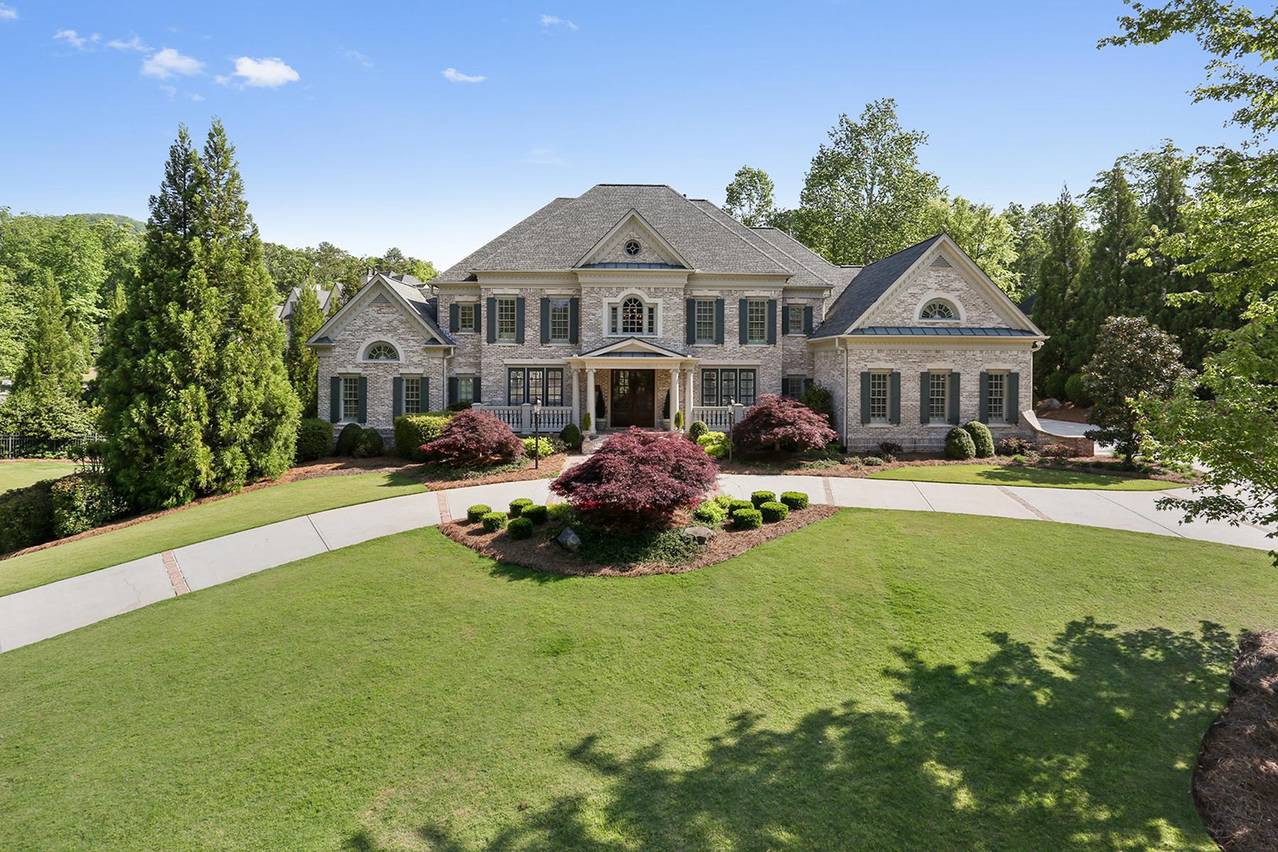 獨棟家庭住宅 為 出售 在 Stunning Georgian Styled Brick Home In Prestigious Anderson Farm 508 Kent Terrace Marietta, 喬治亞州, 30064 美國