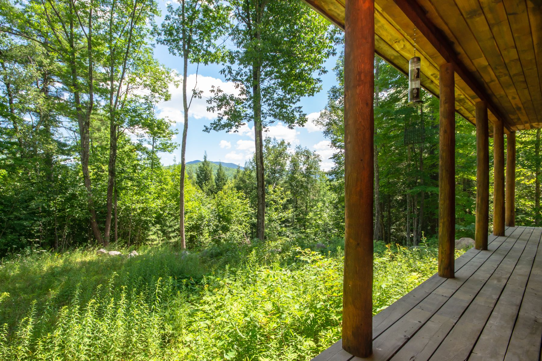 Single Family Homes for Sale at High Peaks Log Cabin 41 Bell Meadow Way Keene, New York 12942 United States