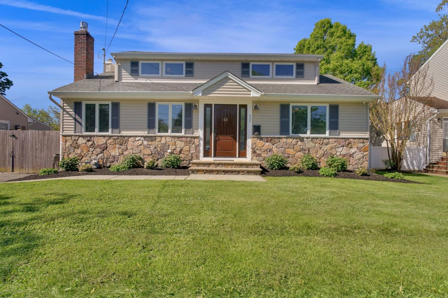 Single Family Homes for Sale at Exceptional Styled Seashore Cape Style Home 527 Borrie Avenue Brielle, New Jersey 08730 United States