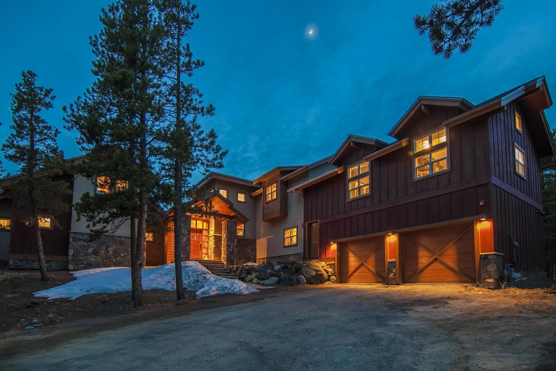 Single Family Homes for Sale at Sun-filled Dream Home in Desirable Mountain Community 255 Indian Peaks Drive Nederland, Colorado 80466 United States