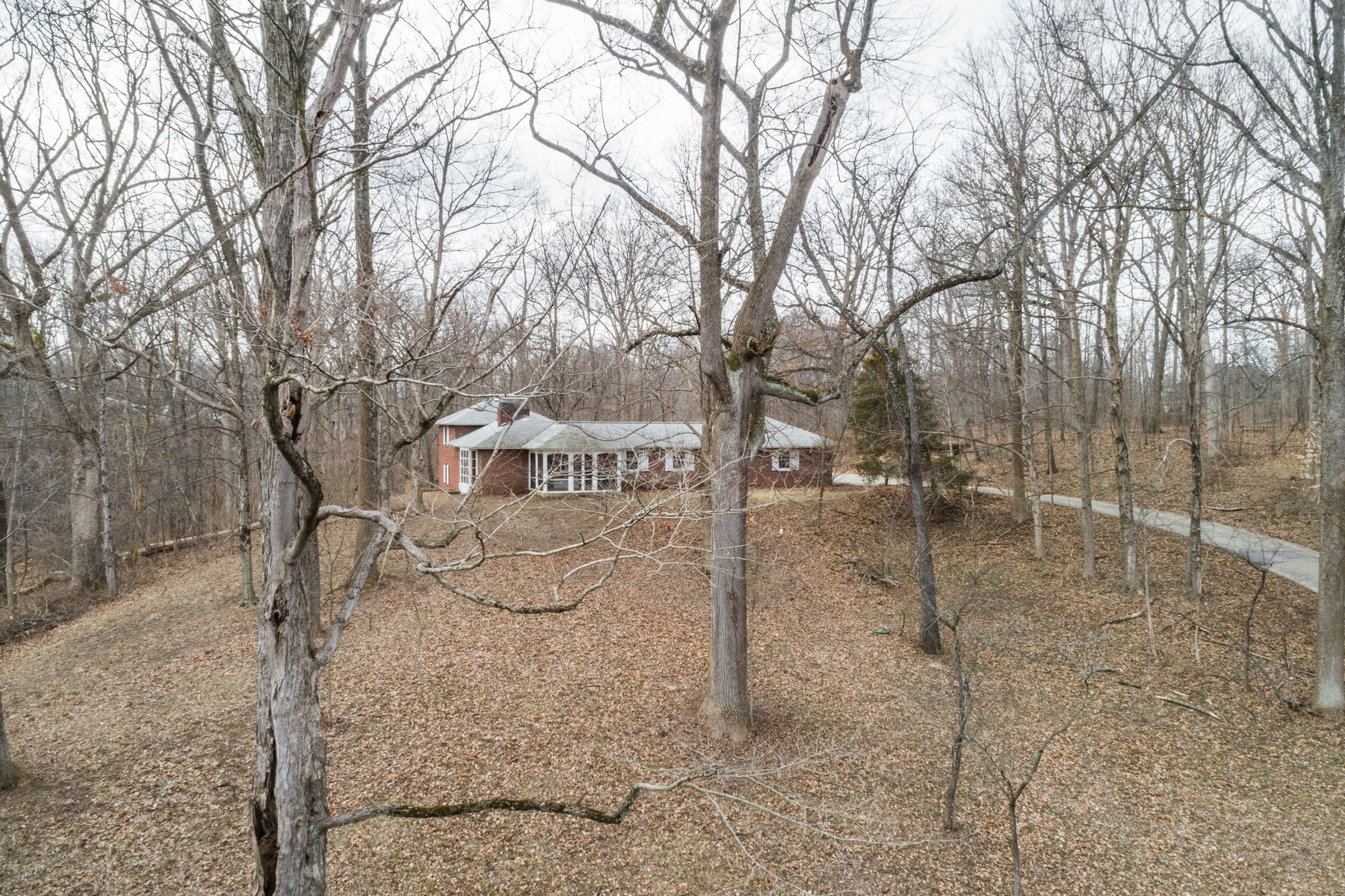 Additional photo for property listing at Total Privacy on 10 Acres 8000 Sargent Road, 印第安纳波利斯, 印第安纳州 46256 美国