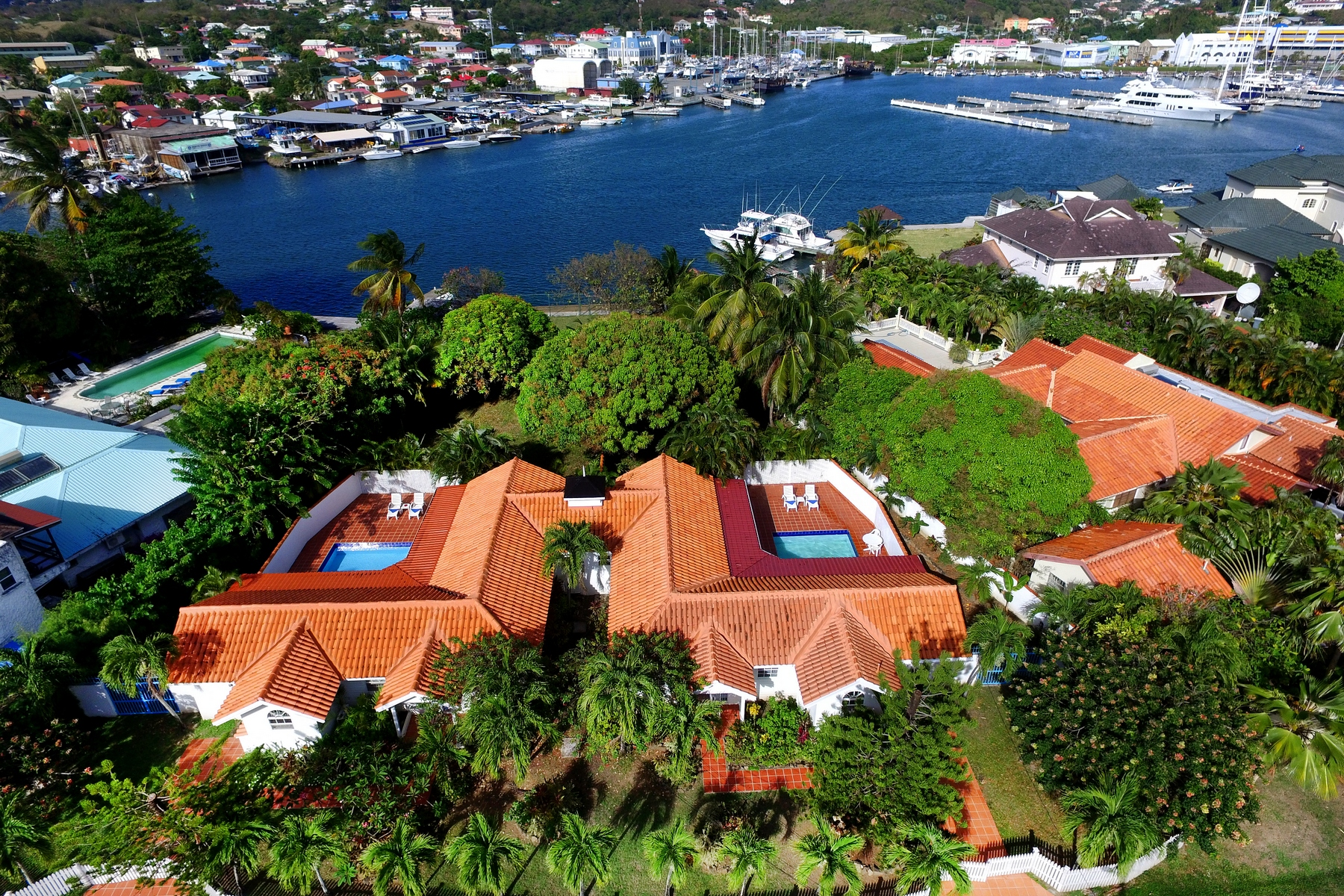 Multi-Family Homes for Sale at The Palm Villas Rodney Bay, Gros Islet, Gros-Islet St. Lucia
