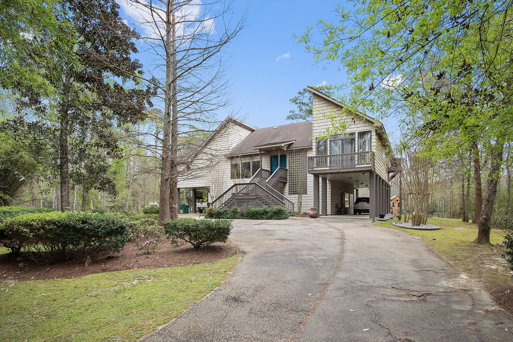 独户住宅 为 销售 在 97 Bogue Falaya Drive 卡温顿, 路易斯安那州 70433 美国