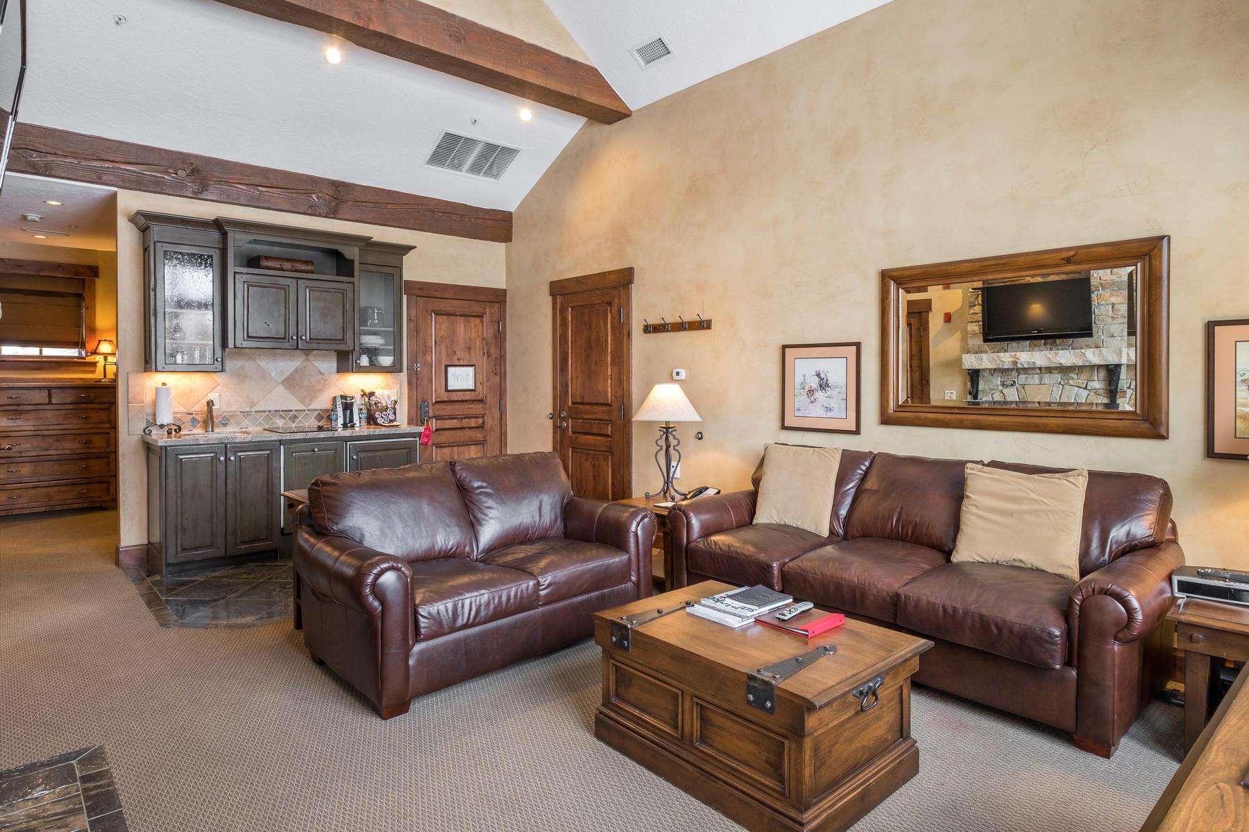 Condominium for Sale at Gorgeous Cottage Suite at Hotel Park City 2001 Park Ave #466, Park City, Utah, 84060 United States
