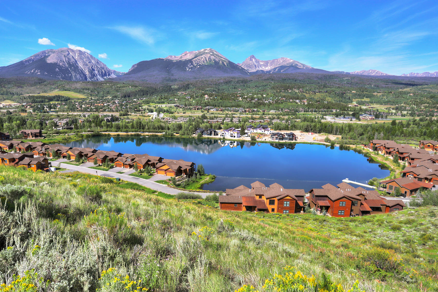 Duplex Homes for Sale at Lot 14 in Waters at Silver Trout 572 Fly Line Drive Silverthorne, Colorado 80498 United States