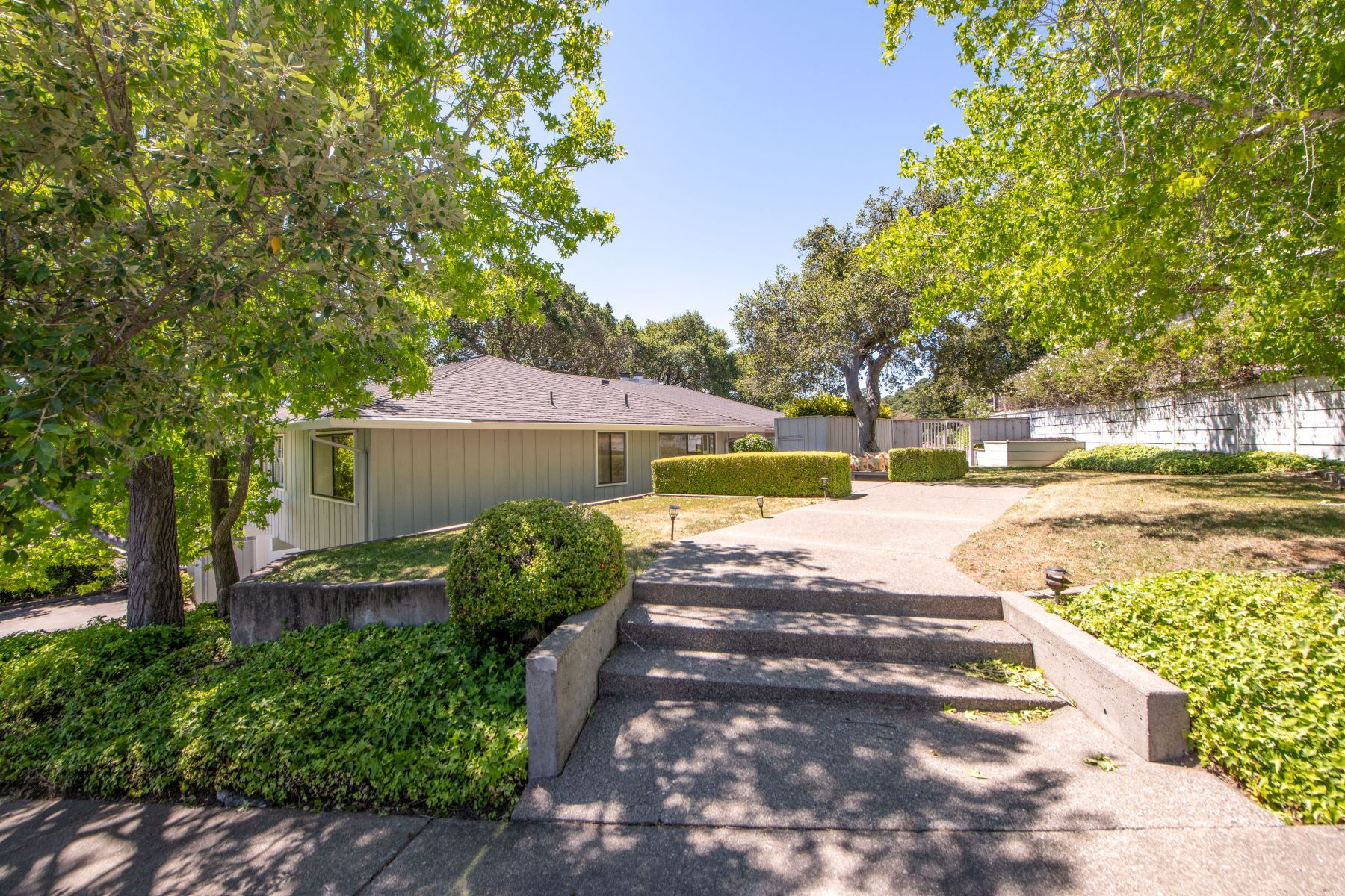 Single Family Homes for Sale at Peacock Gap Water Views 27 McNear Drive, San Rafael, California 94901 United States