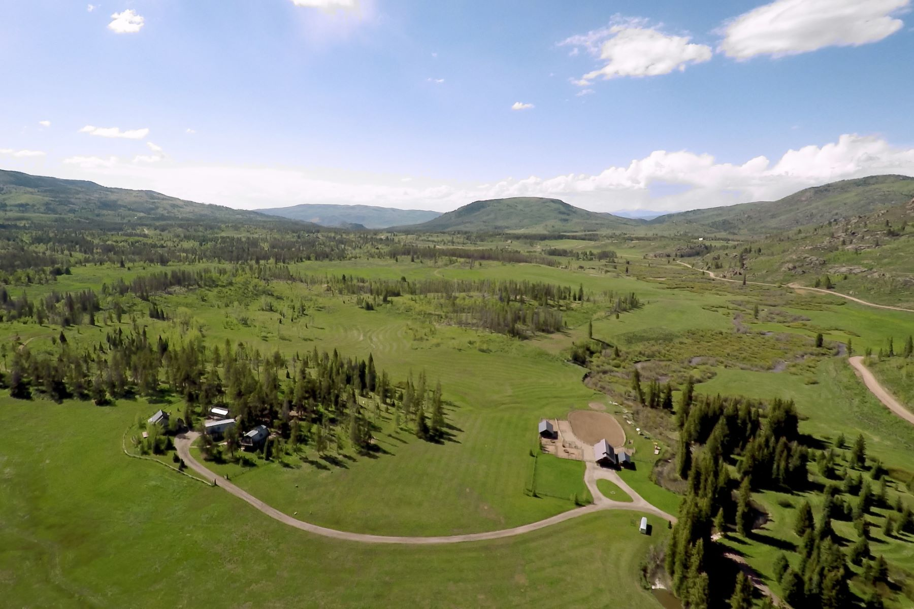 Farm / Ranch / Plantation for Active at High Meadows Ranch 20505 County Road 16 Oak Creek, Colorado 80476 United States