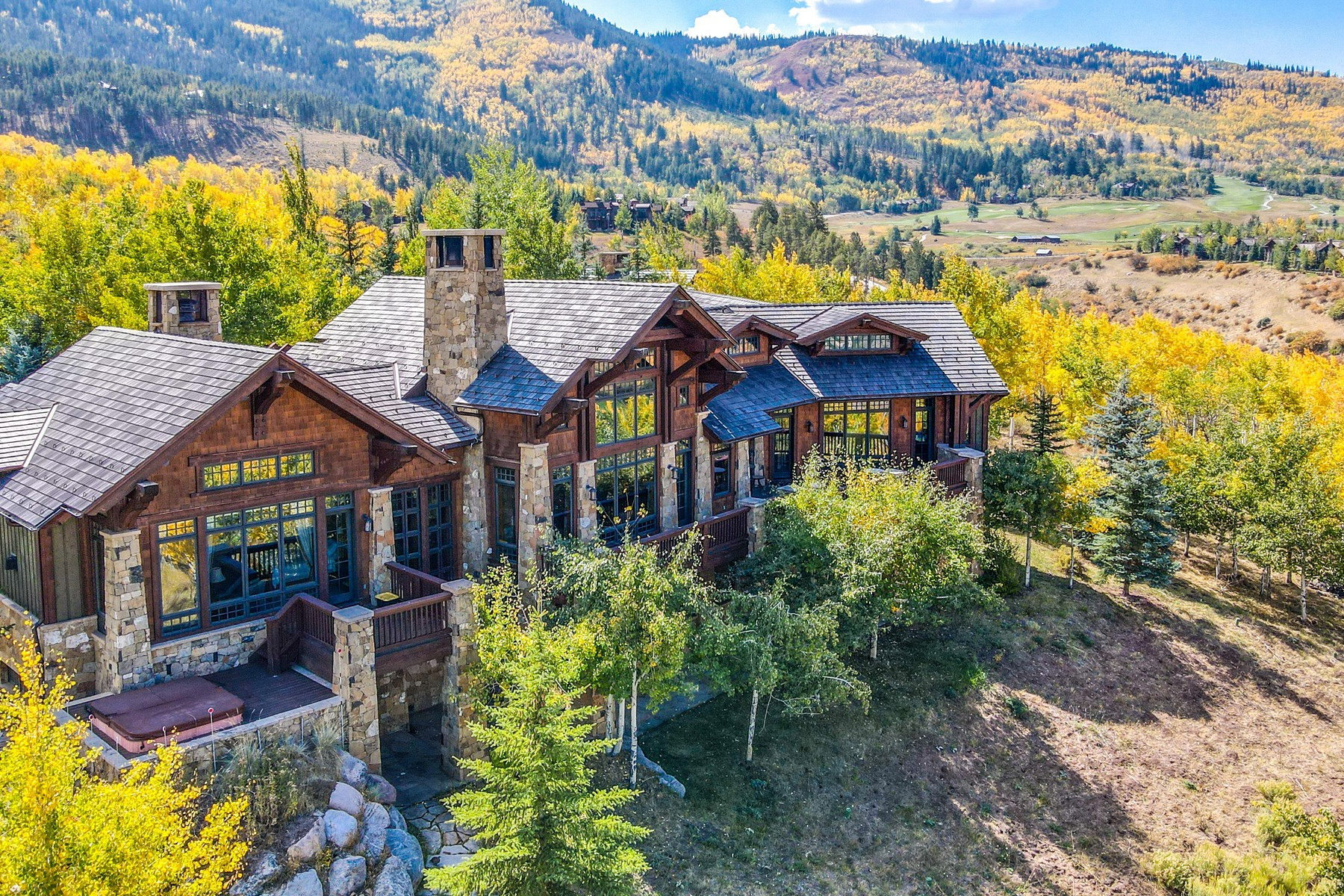 Single Family Homes pour l Vente à A magnificent luxury residence 292 Aspen Meadows Road, Edwards, Colorado 81632 États-Unis