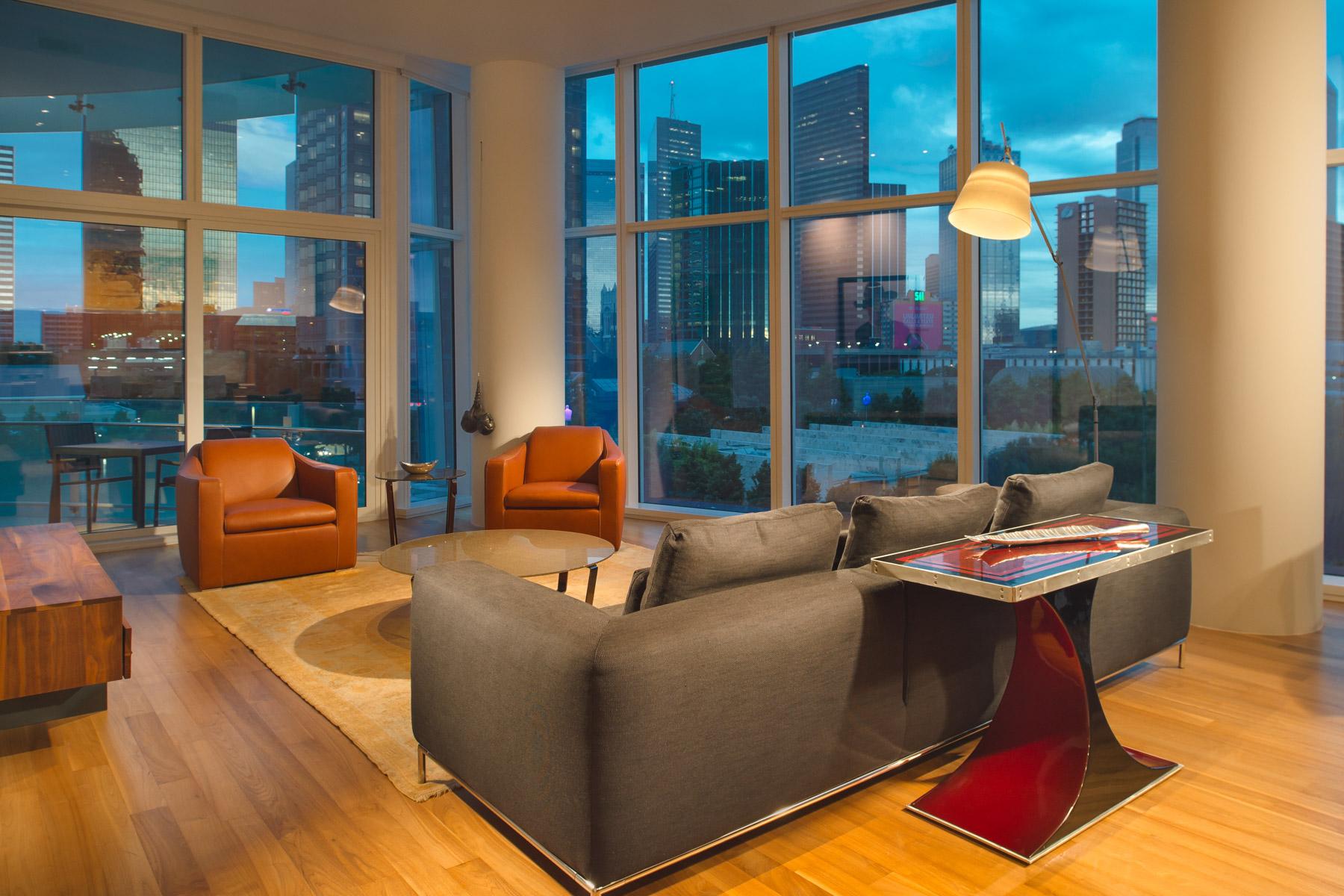 Кондоминиум для того Продажа на Museum Tower Condominium 1918 Olive Street #403, Dallas, Техас, 75201 Соединенные Штаты